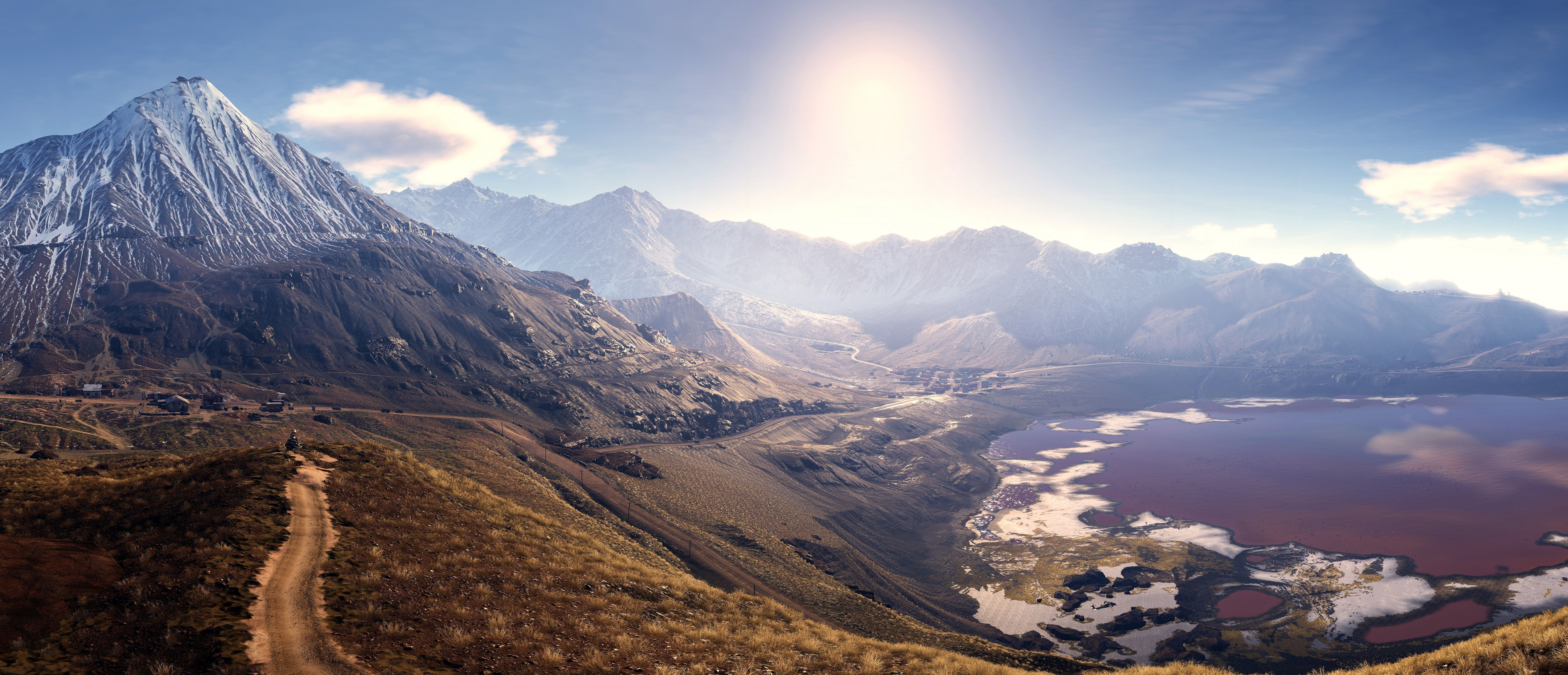 Tom Clancy S Ghost Recon Wildlands Wallpapers Top Free Tom
