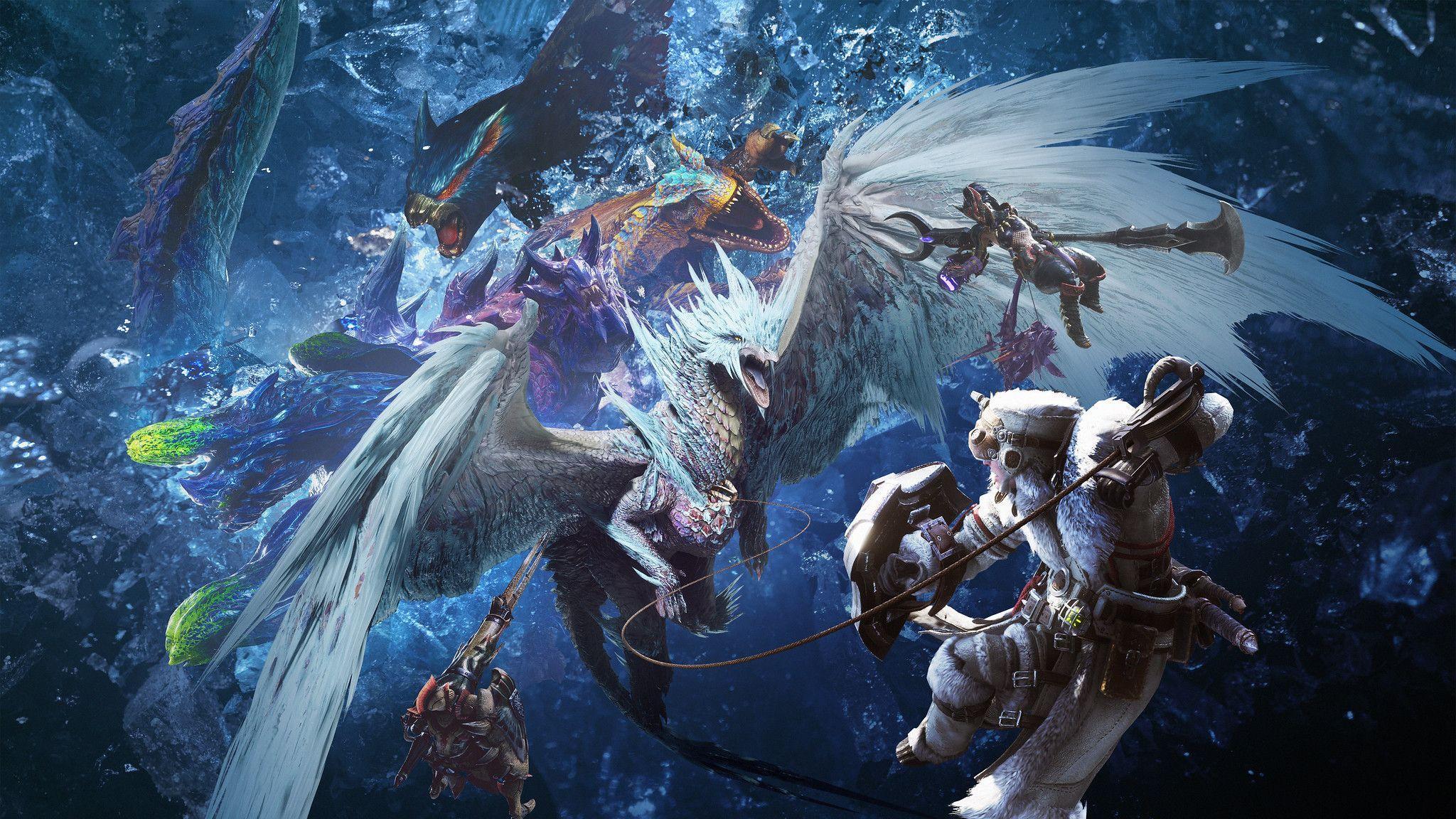 Monster Hunter World Iceborne Wallpapers Top Free Monster