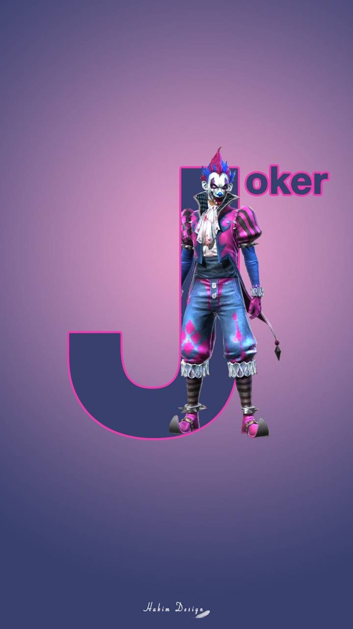 Free Fire Joker Wallpapers Top Free Free Fire Joker Backgrounds Wallpaperaccess