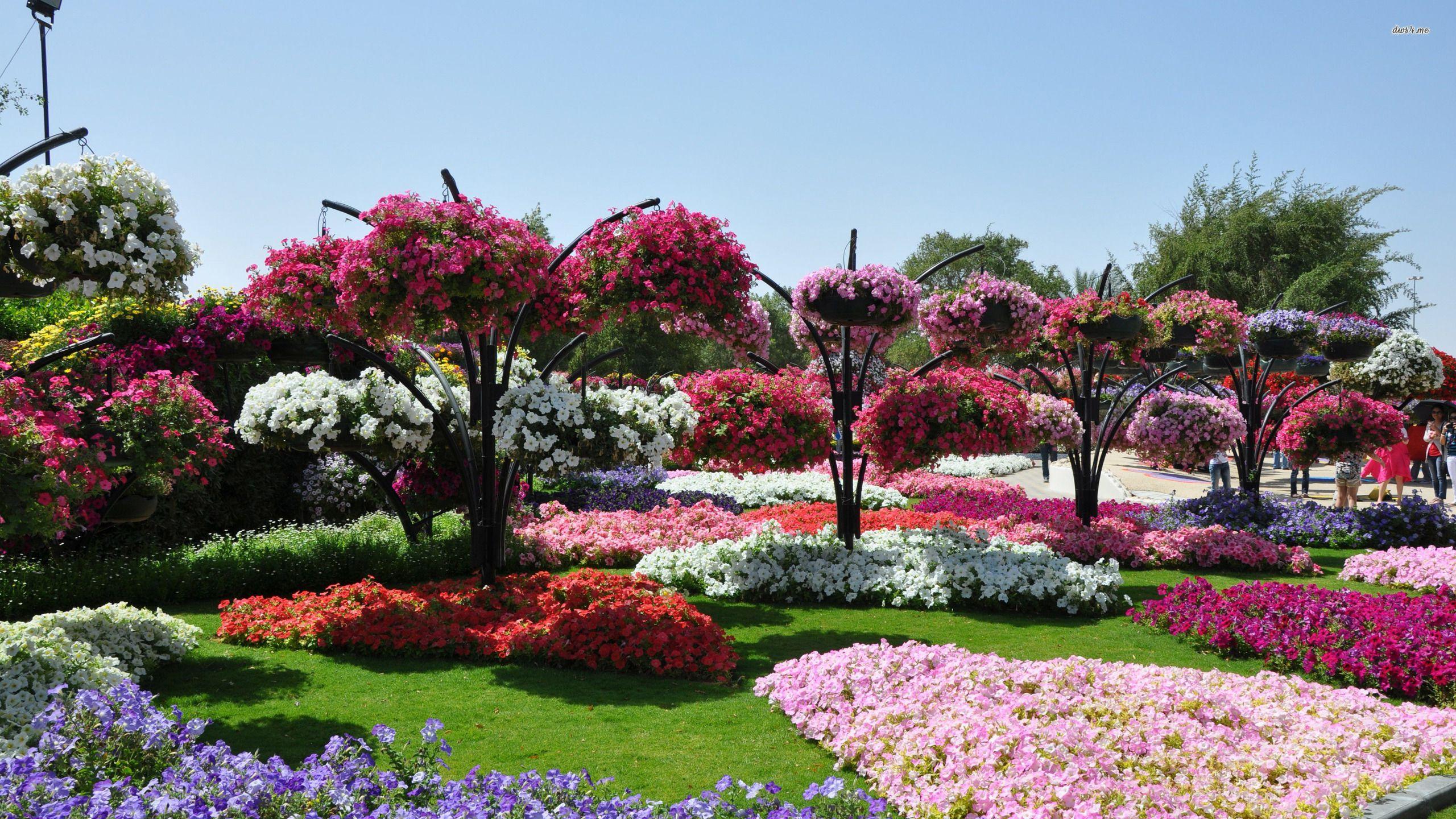1600x1200 Flower Garden Wallpaper Free Download Refreshrose Blogspot Com