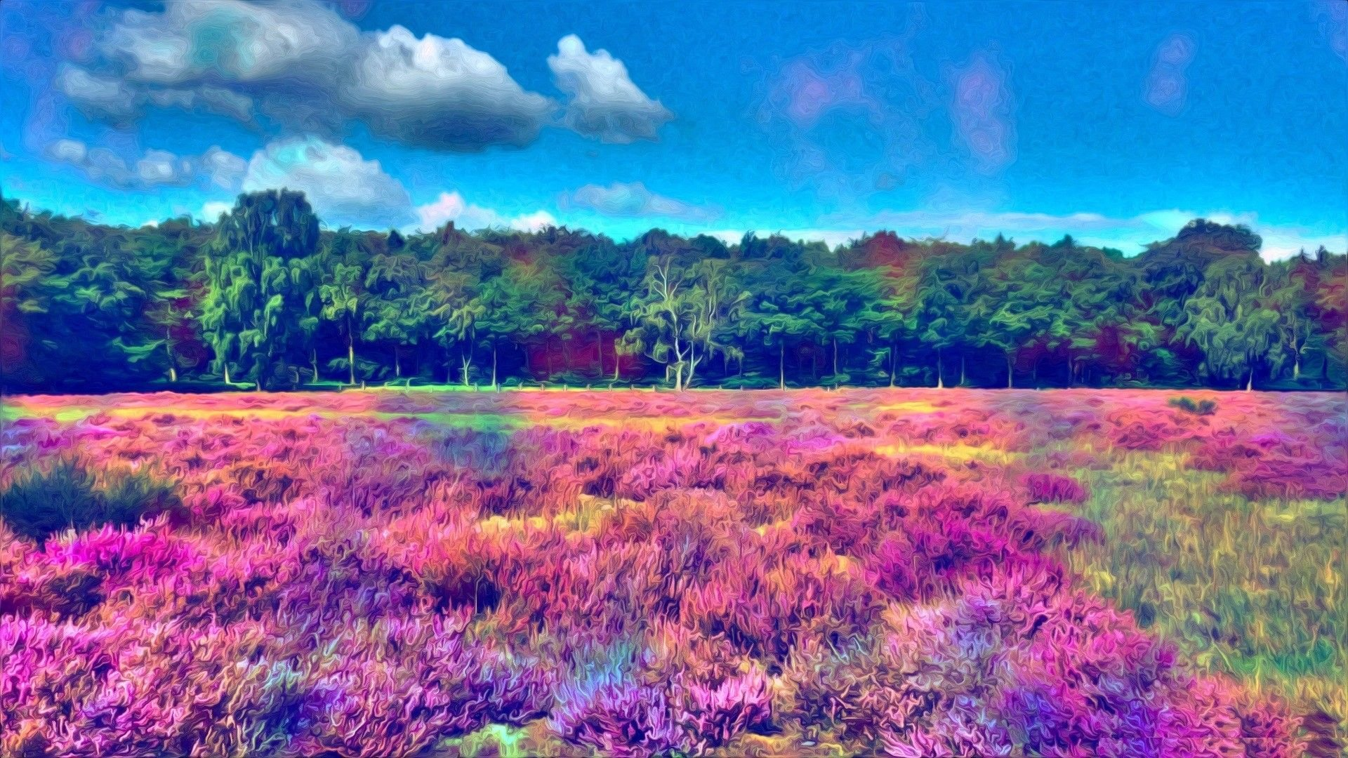 Psychedelic Nature Wallpapers Top Free Psychedelic Nature