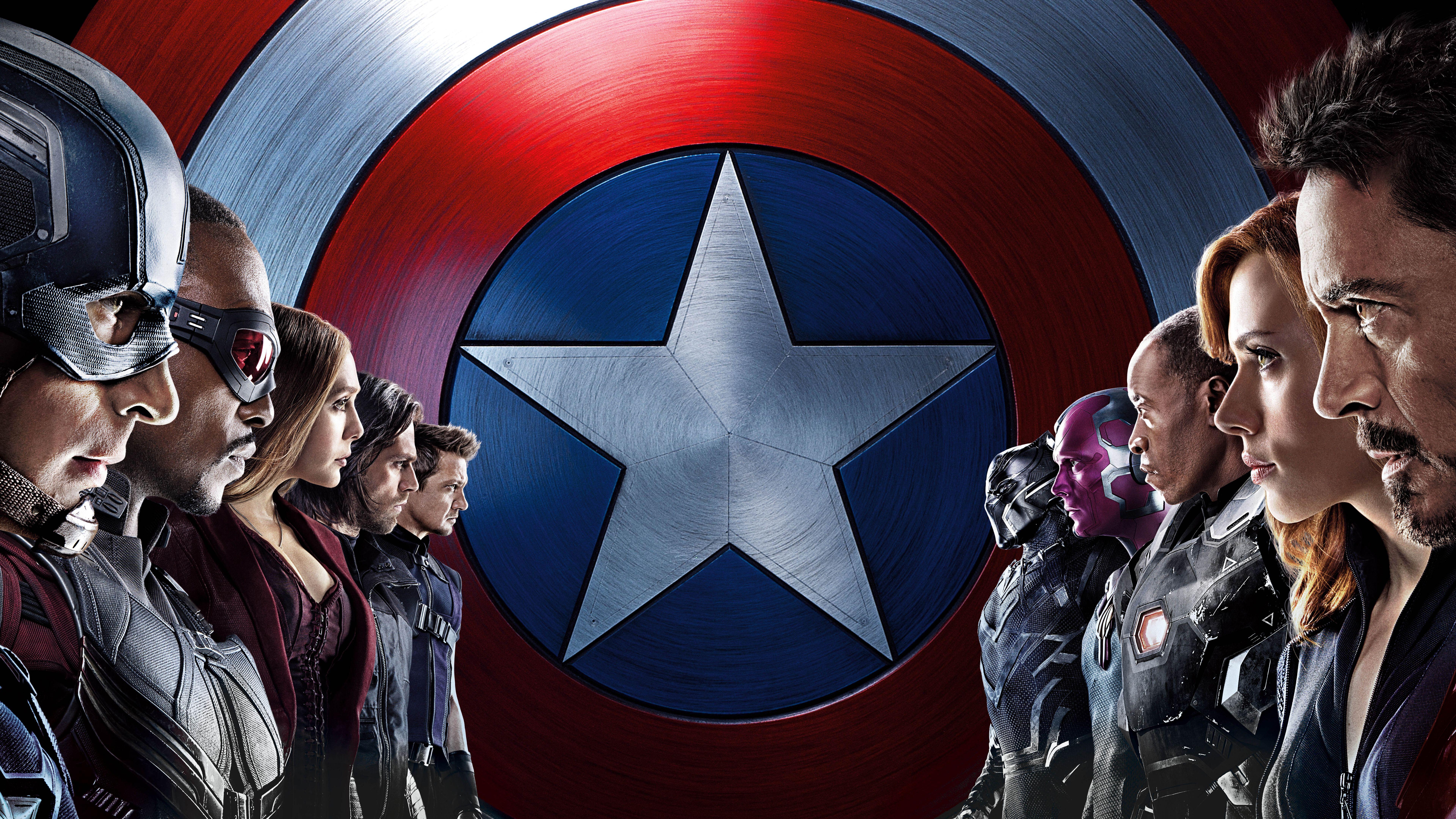captain america civil war free hd