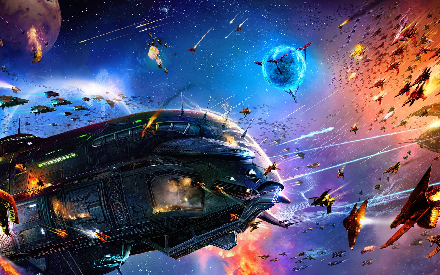 Space Battle Wallpapers Top Free Space Battle Backgrounds Wallpaperaccess