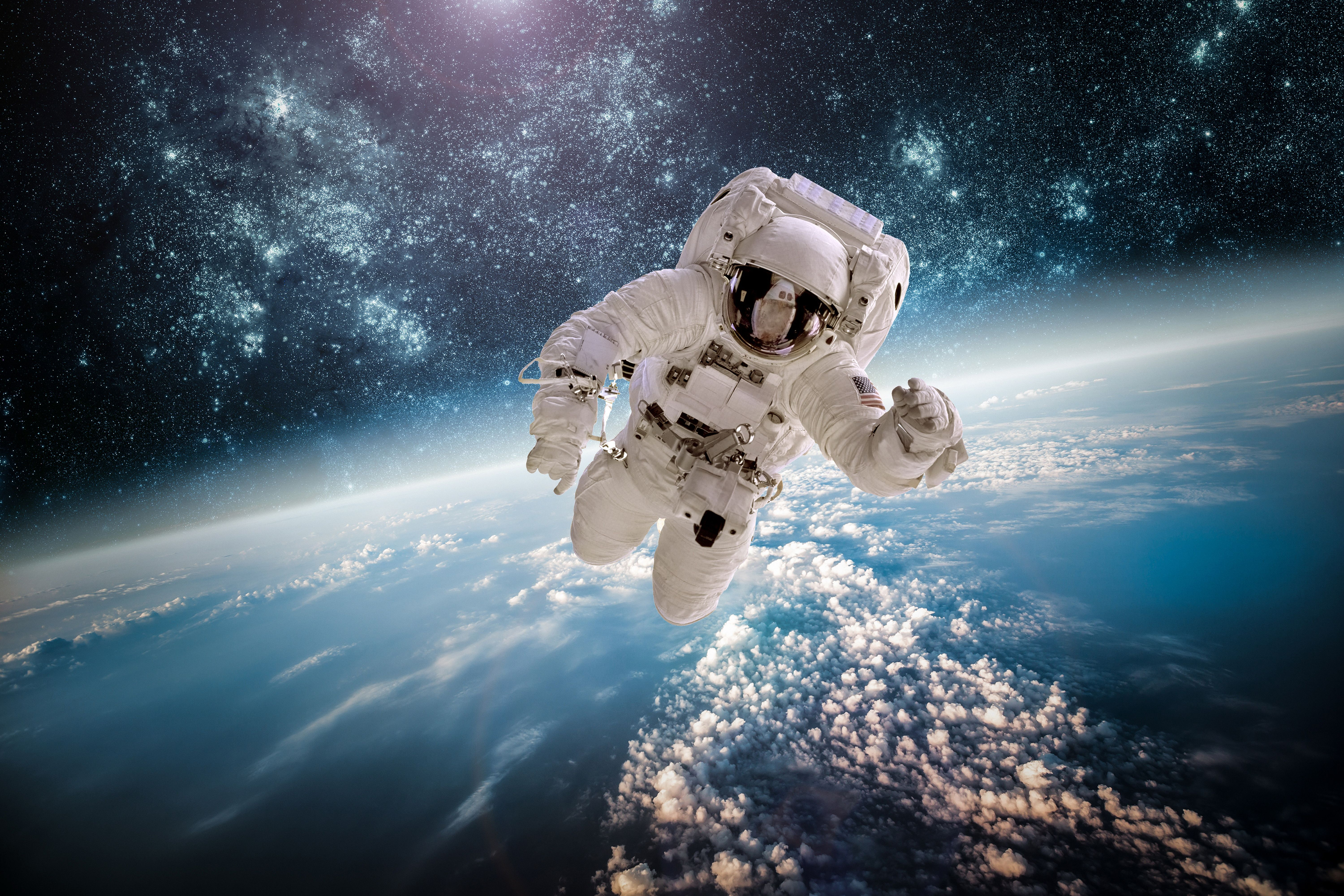 Astronaut In Space Wallpapers Top Free Astronaut In Space