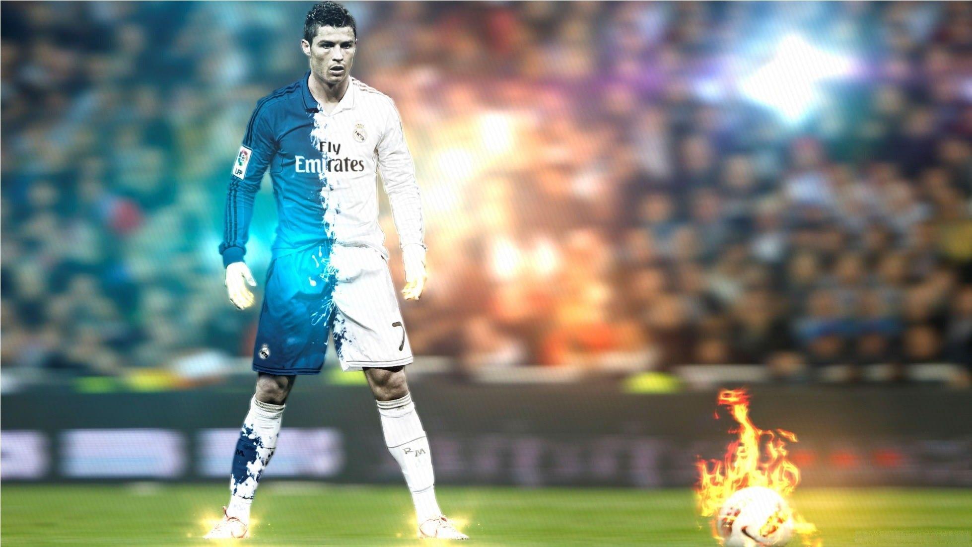 Hình nền Cristiano Ronaldo 1958x1102 - Hình ảnh HD mới của CR7