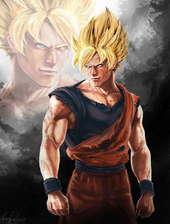 Goku 3D Wallpapers Top Free Goku 3D Backgrounds