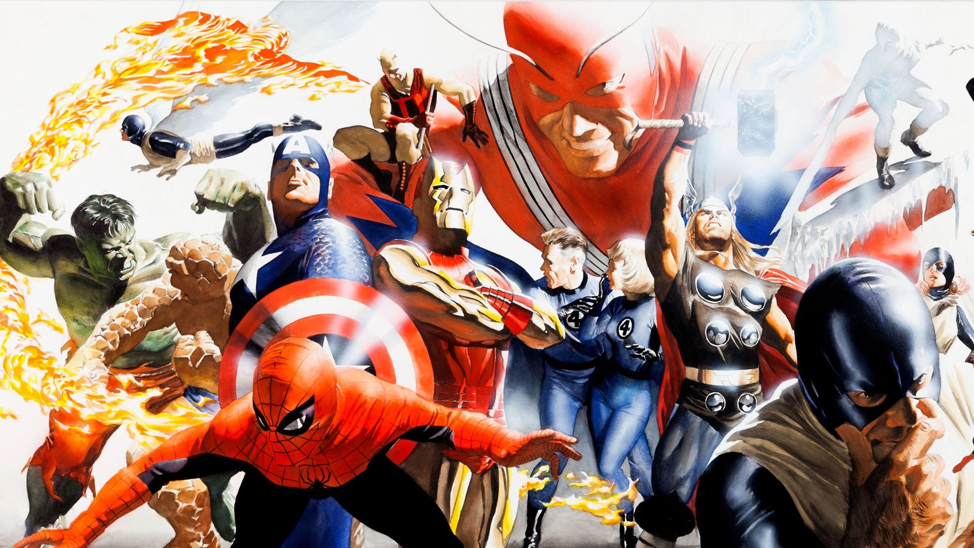 Alex Ross Wallpapers Top Free Alex Ross Backgrounds