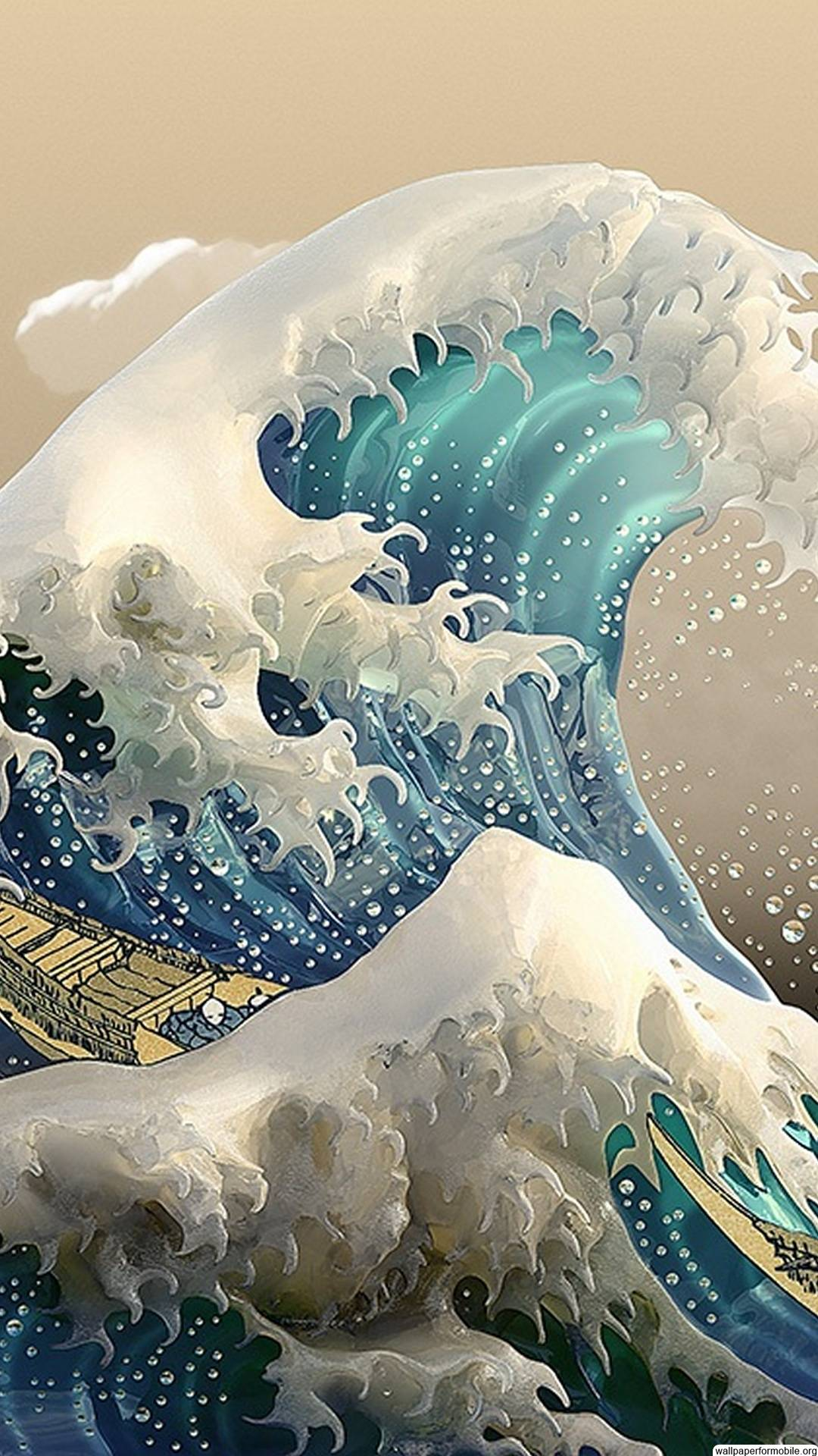 The Great Wave Wallpapers Top Free The Great Wave