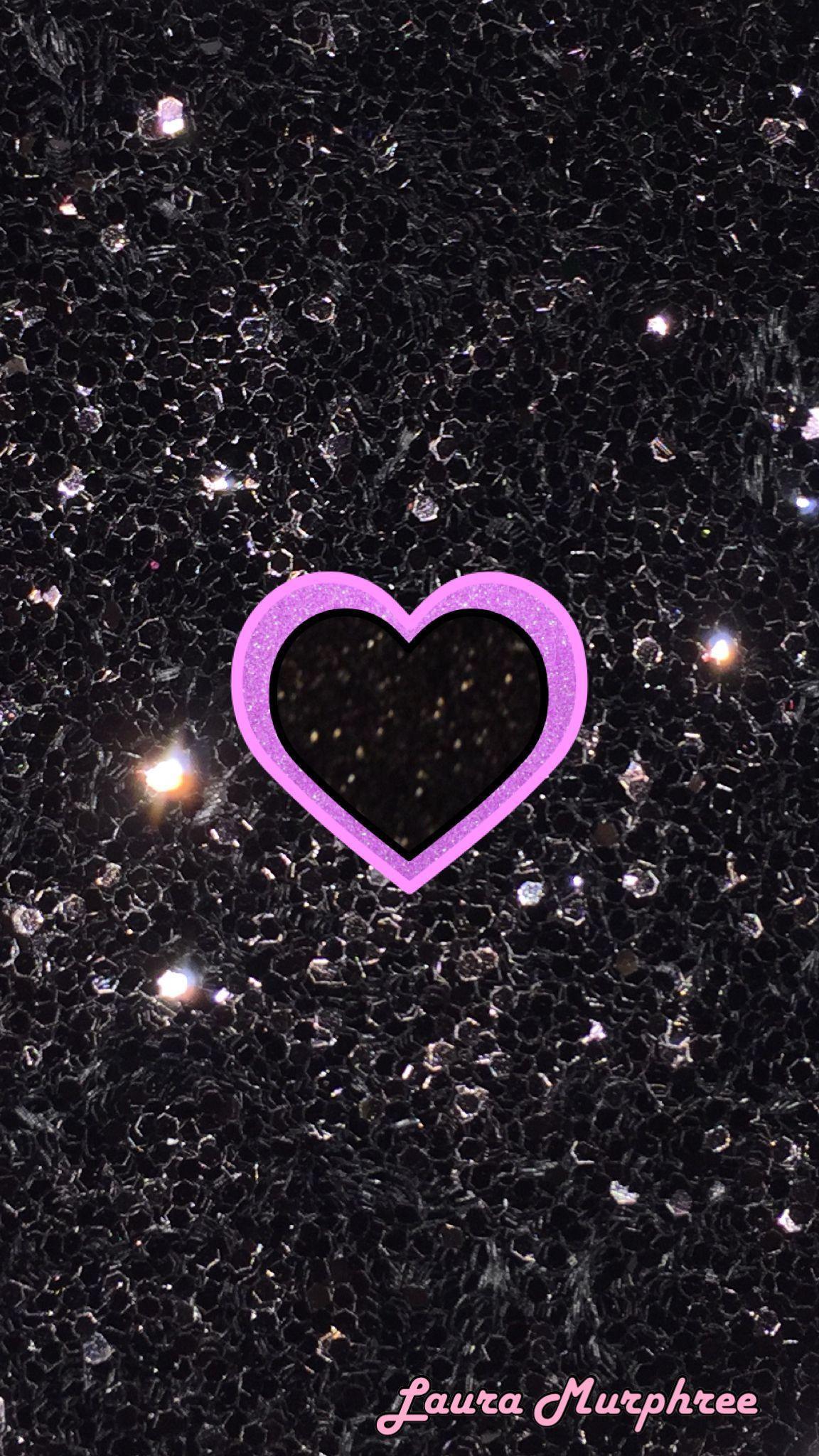 Glitter Heart Iphone Wallpapers Top Free Glitter Heart Iphone