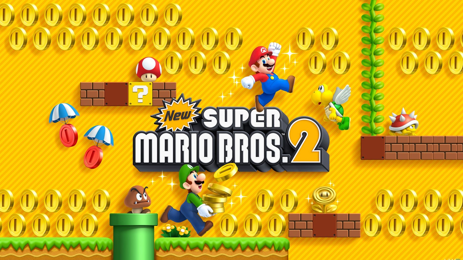 New Super Mario Bros 2 Wallpapers Top Free New Super Mario Bros
