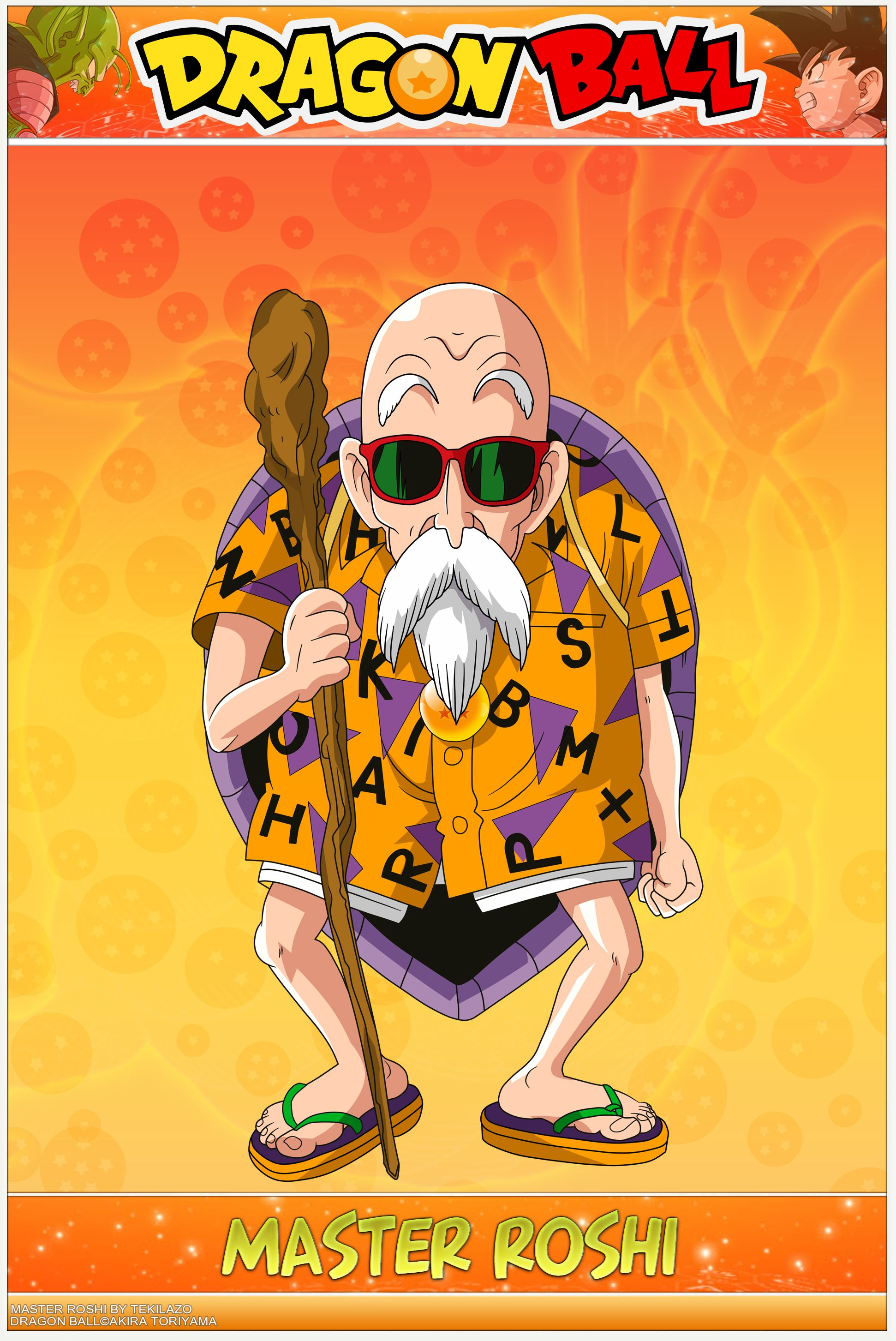 Master Roshi Wallpapers Top Free Master Roshi Backgrounds Wallpaperaccess