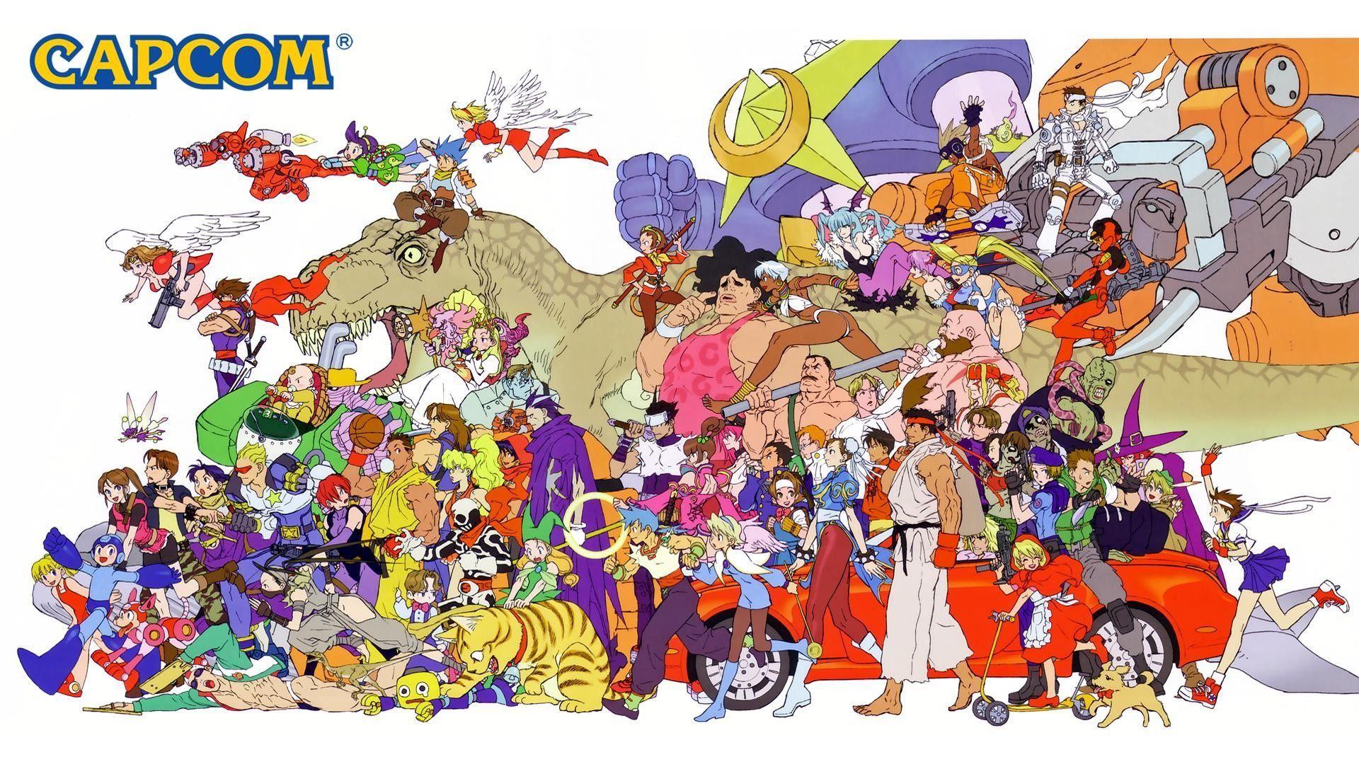 Capcom Wallpapers Top Free Capcom Backgrounds Wallpaperaccess
