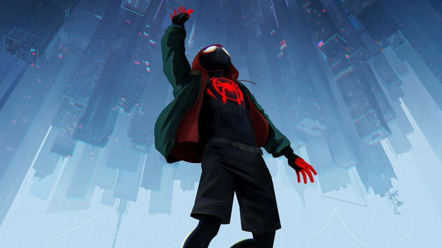 Into The Spider Verse Wallpapers Top Free Into The Spider Verse Backgrounds Wallpaperaccess