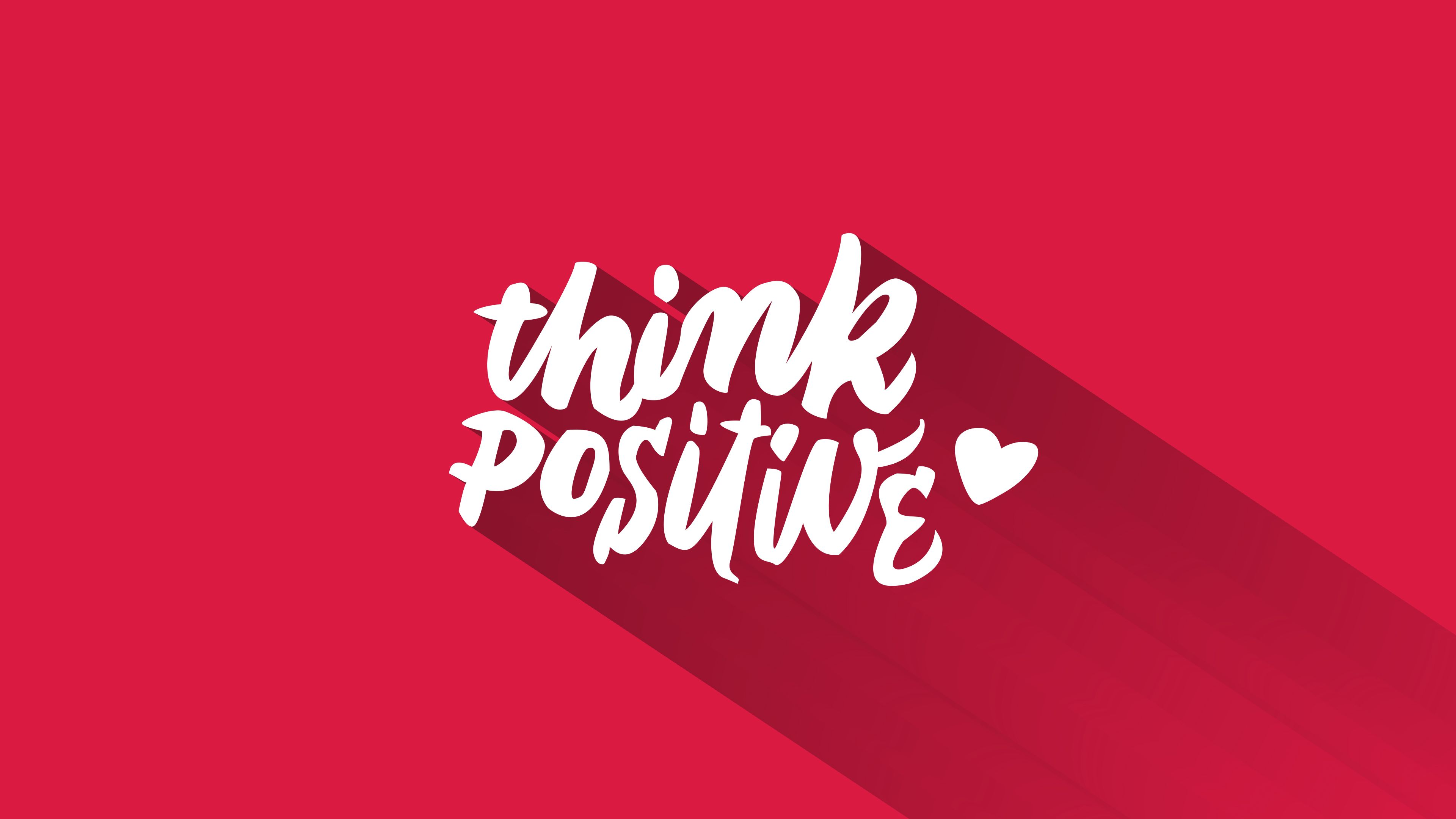 Think Positive Wallpapers Top Free Think Positive Backgrounds Wallpaperaccess