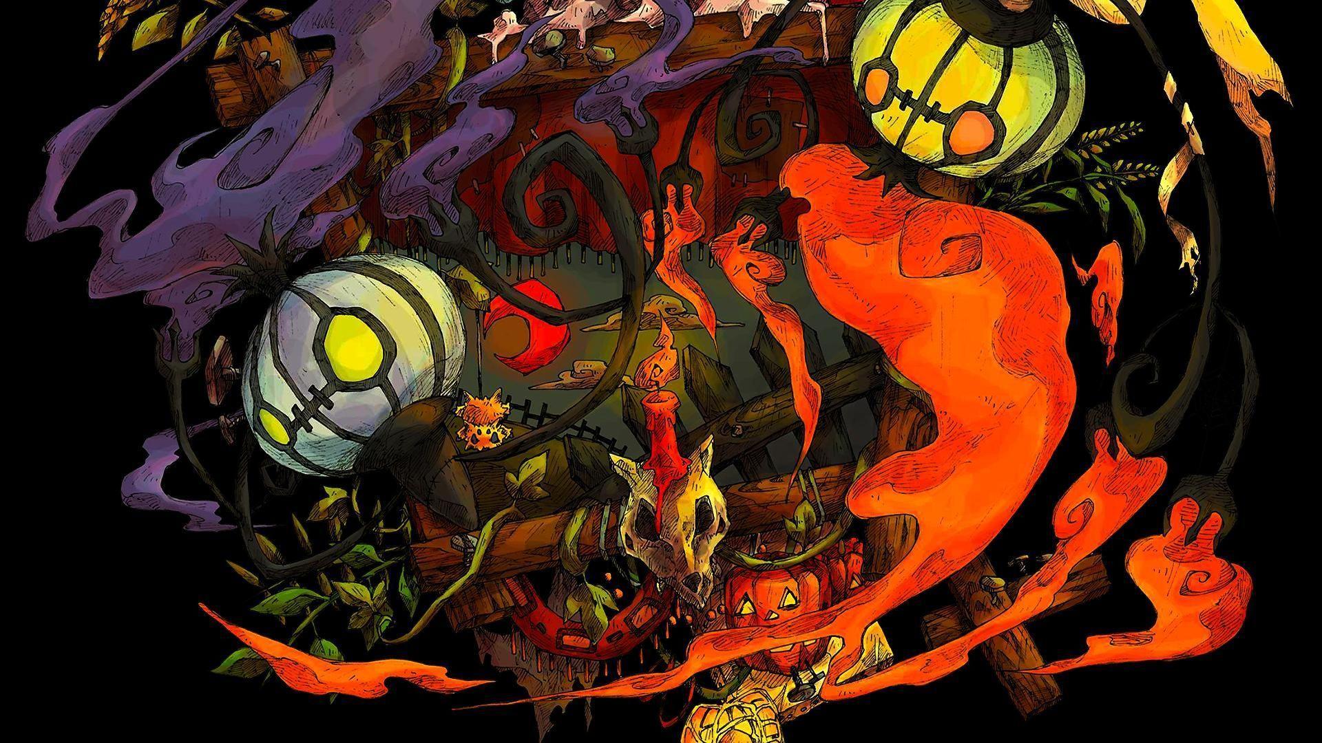 35 Best Free Pokemon Halloween Wallpapers