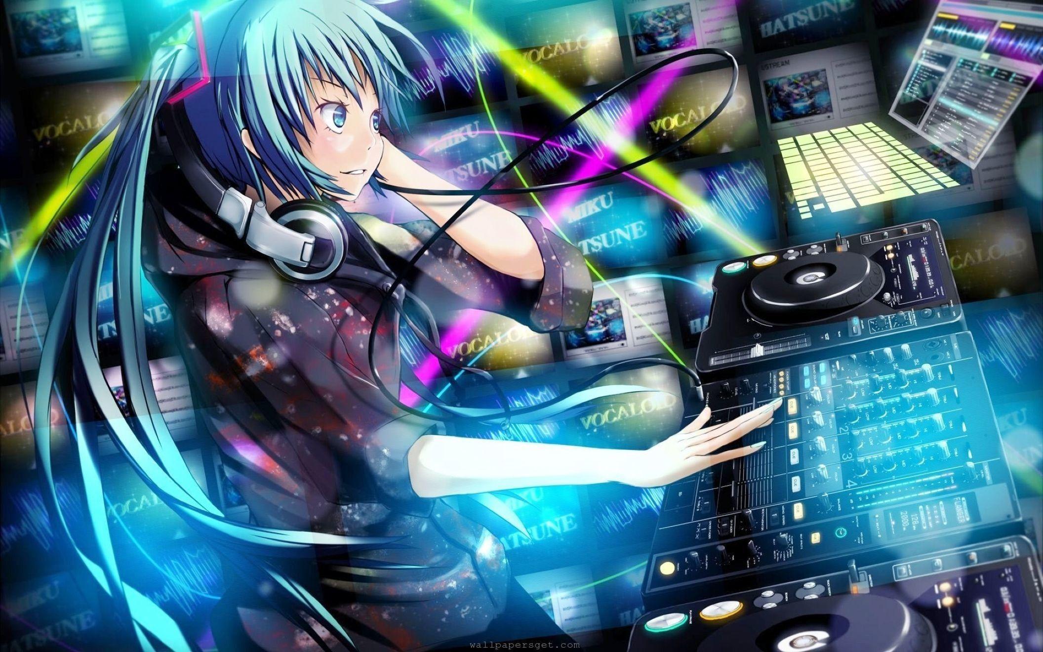 3d Wallpaper Anime Music gambar ke 4