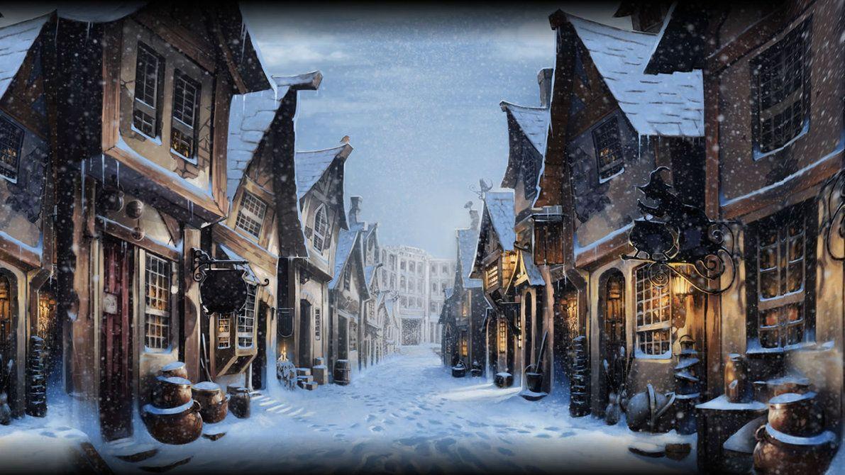 Harry Potter Christmas Wallpaper Hd.Harry Potter Christmas Wallpapers Top Free Harry Potter