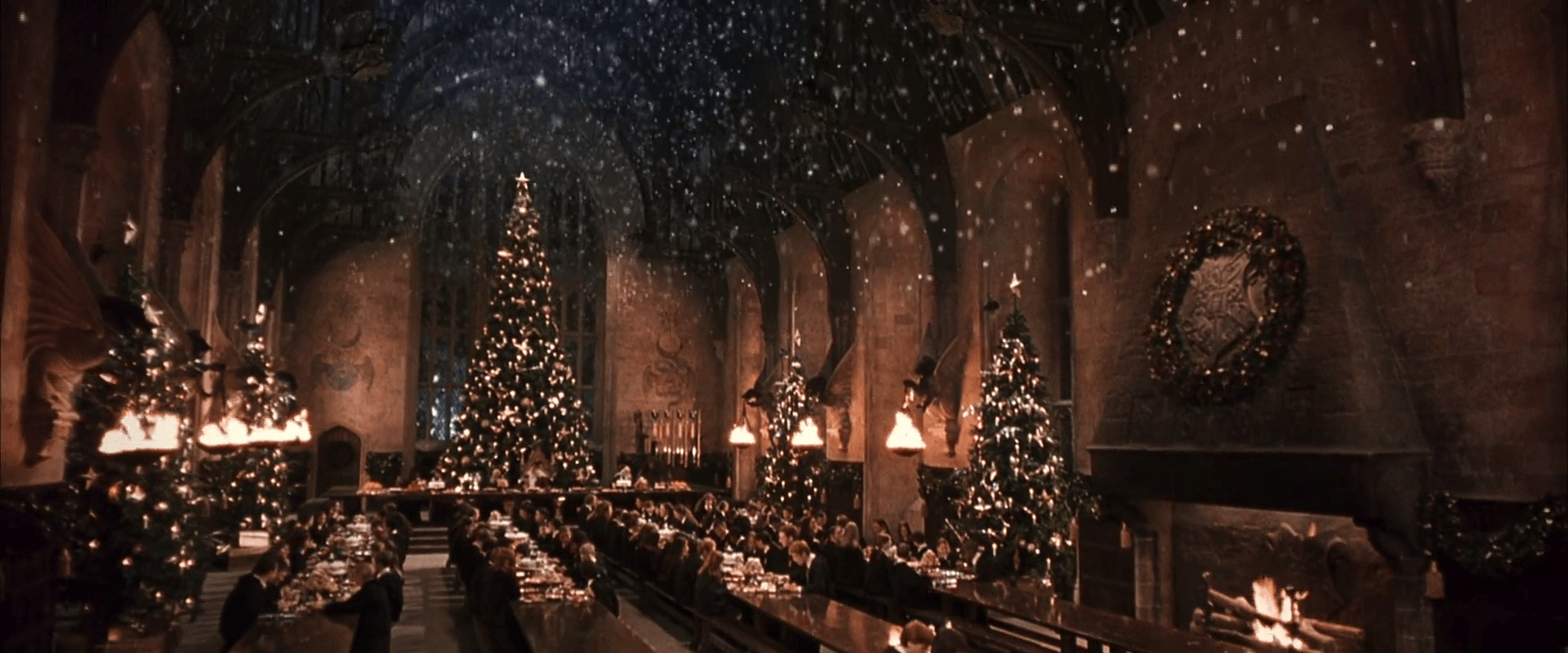 Christmas Harry Potter.Harry Potter Christmas Wallpapers Top Free Harry Potter Christmas