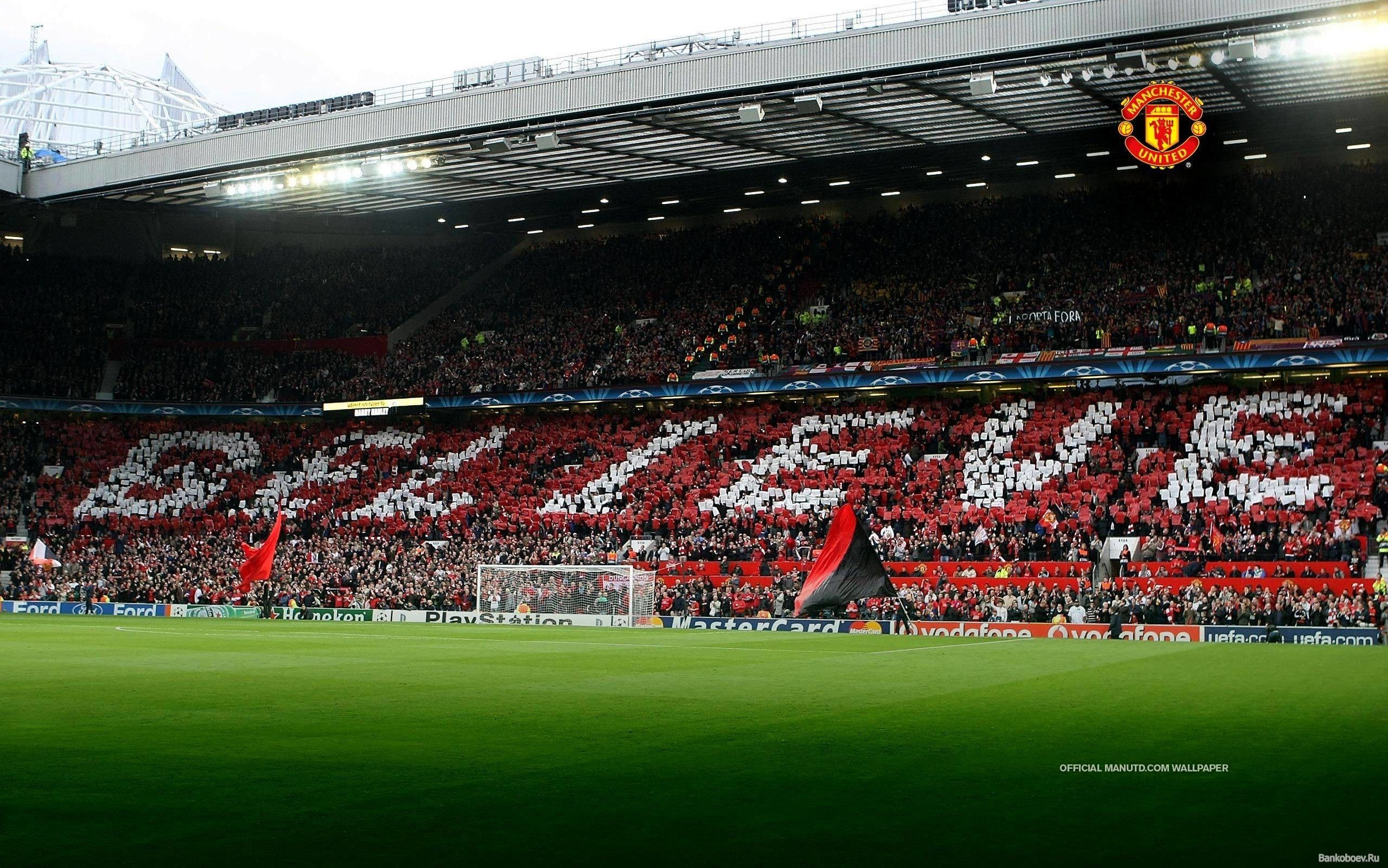 Old Trafford Wallpapers Top Free Old Trafford Backgrounds Wallpaperaccess