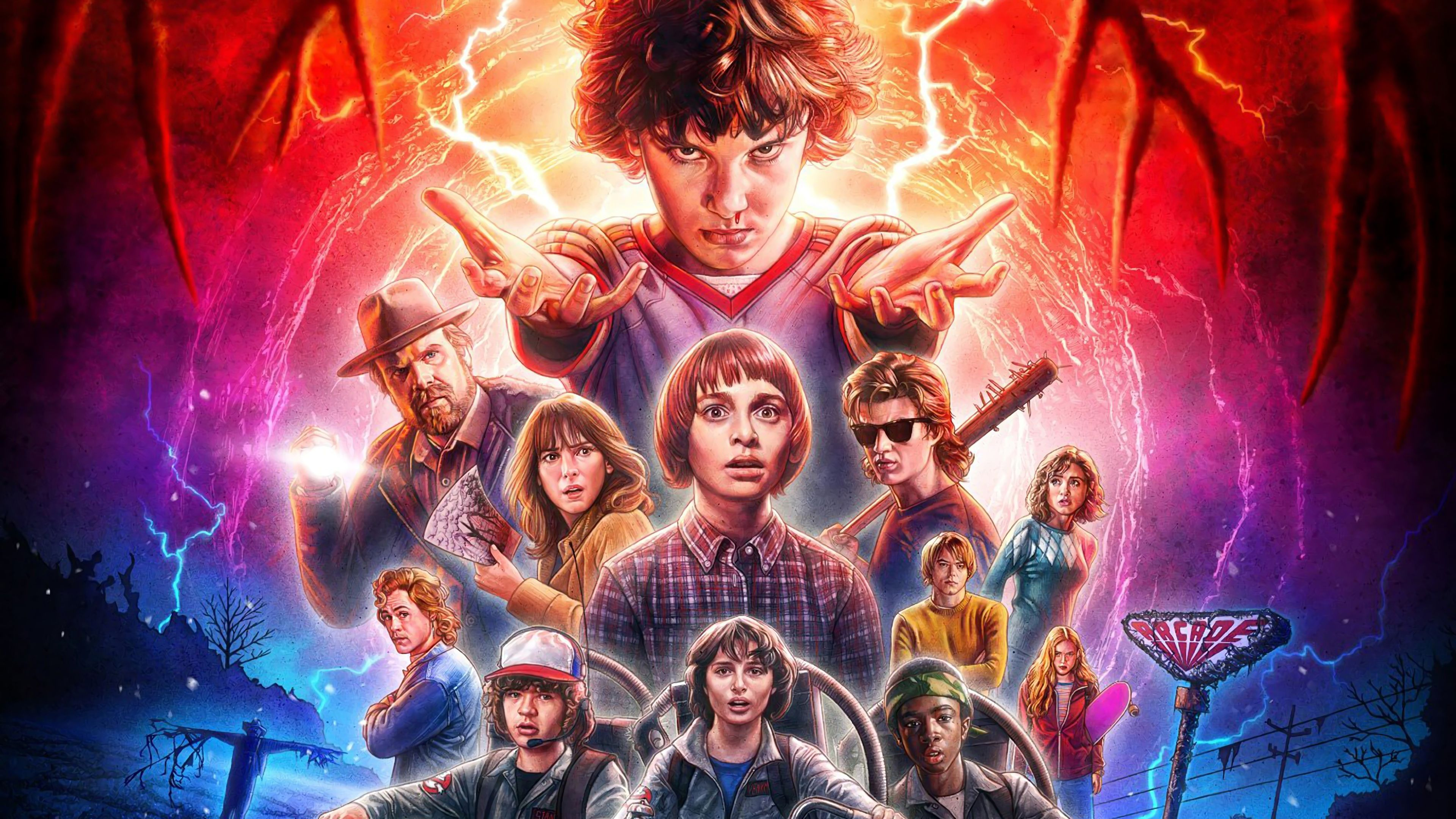 Stranger Things Season 2 Wallpapers Top Free Stranger Things
