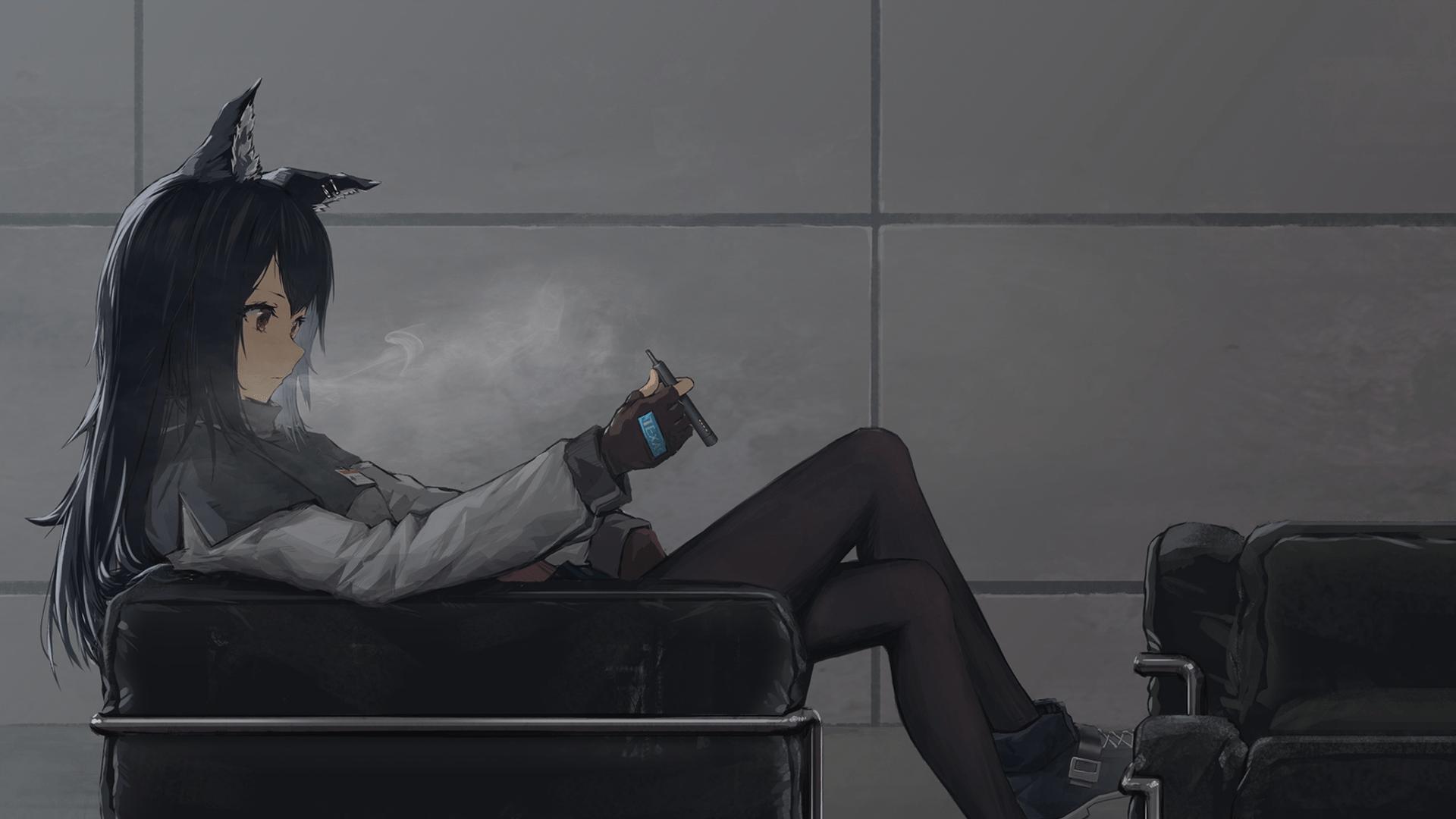 Anime Smoking Wallpapers Top Free Anime Smoking Backgrounds Wallpaperaccess