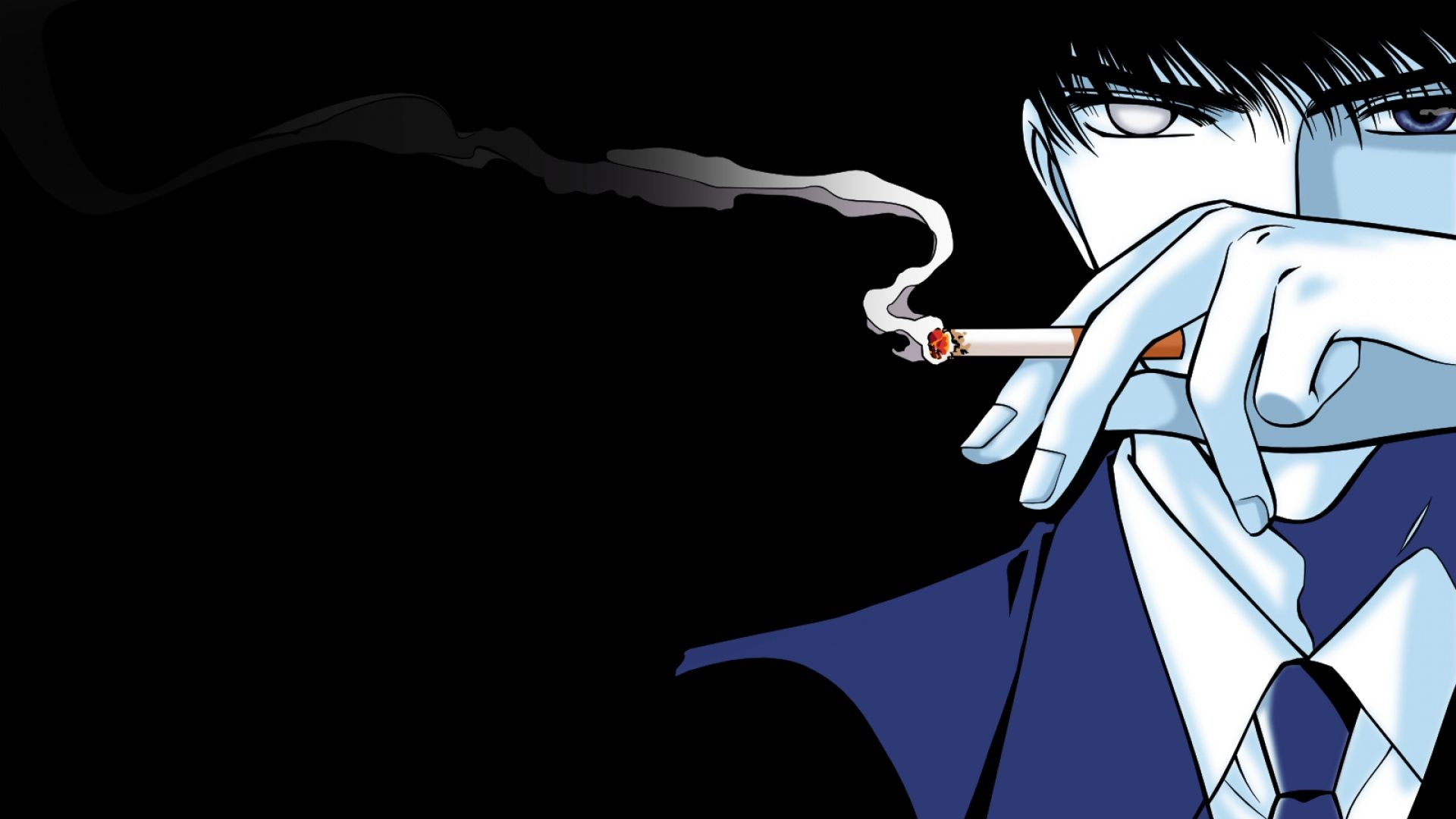 Anime Smoke Wallpapers Top Free Anime Smoke Backgrounds Wallpaperaccess