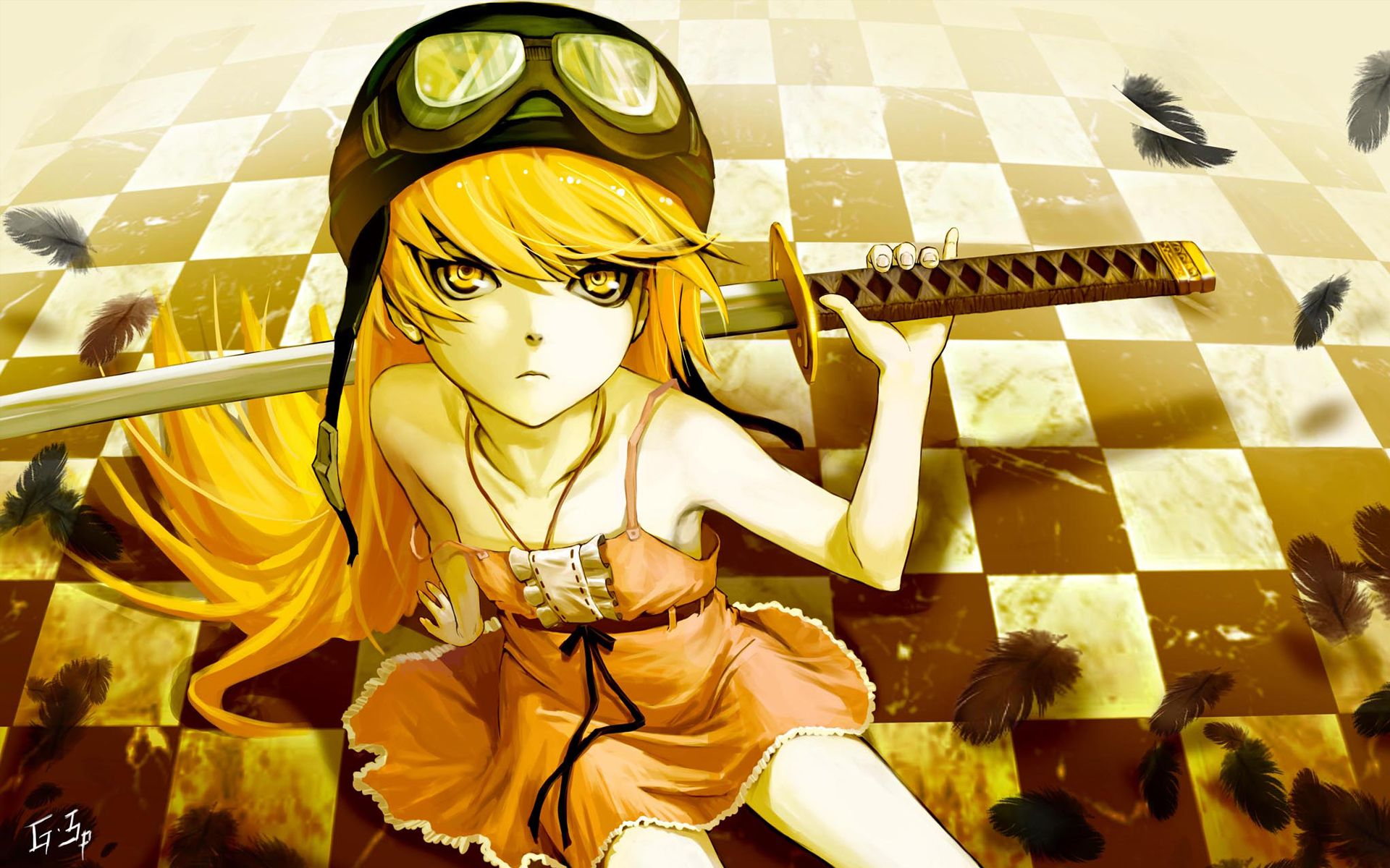 Yellow Anime Wallpapers - Top Free Yellow Anime Backgrounds