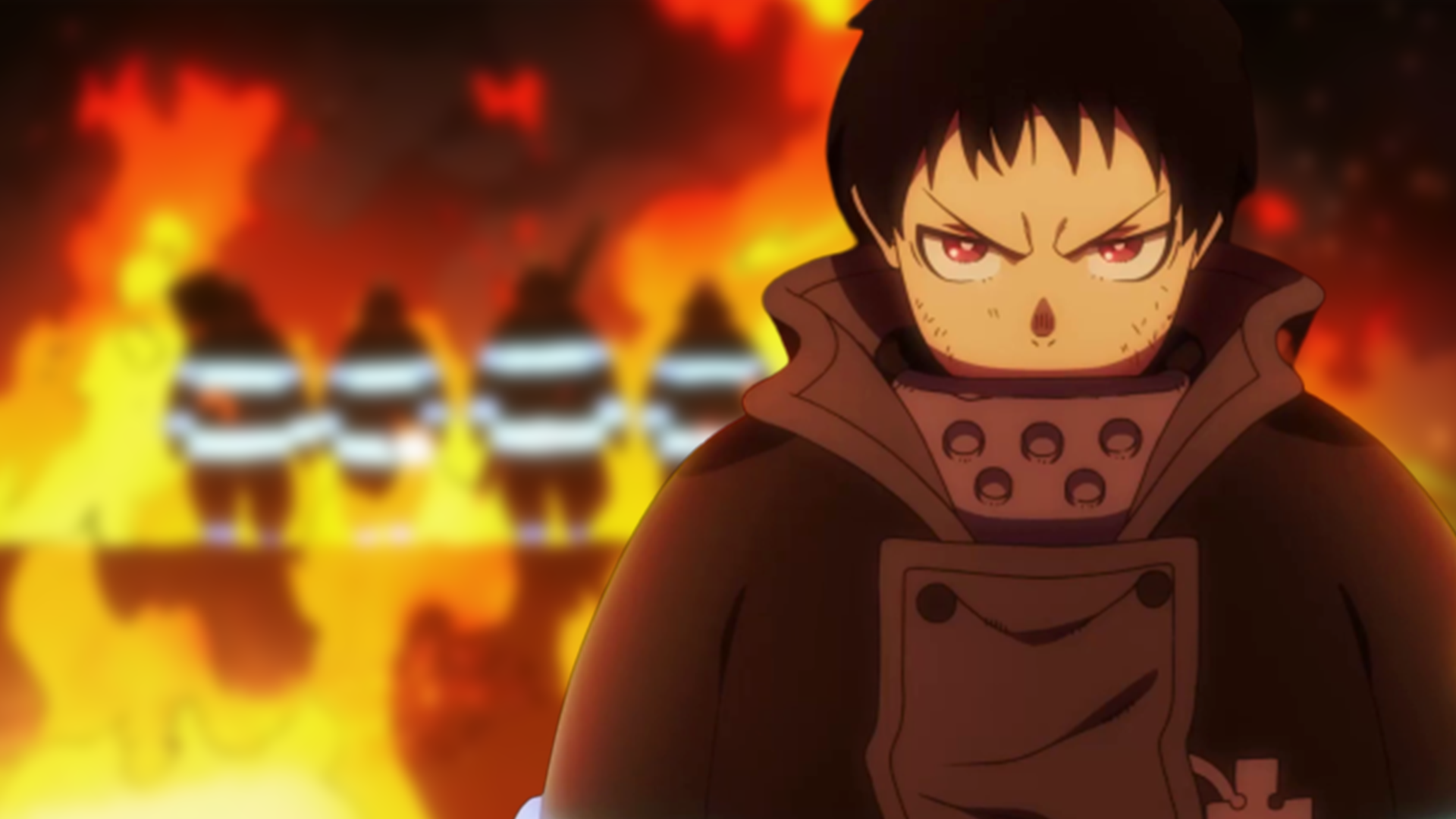 Fire Force Anime Wallpapers Top Free Fire Force Anime Backgrounds Wallpaperaccess