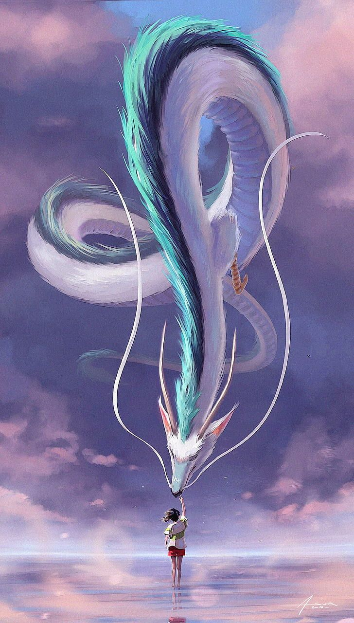 Spirited Away Dragon Wallpapers - Top Free Spirited Away ...