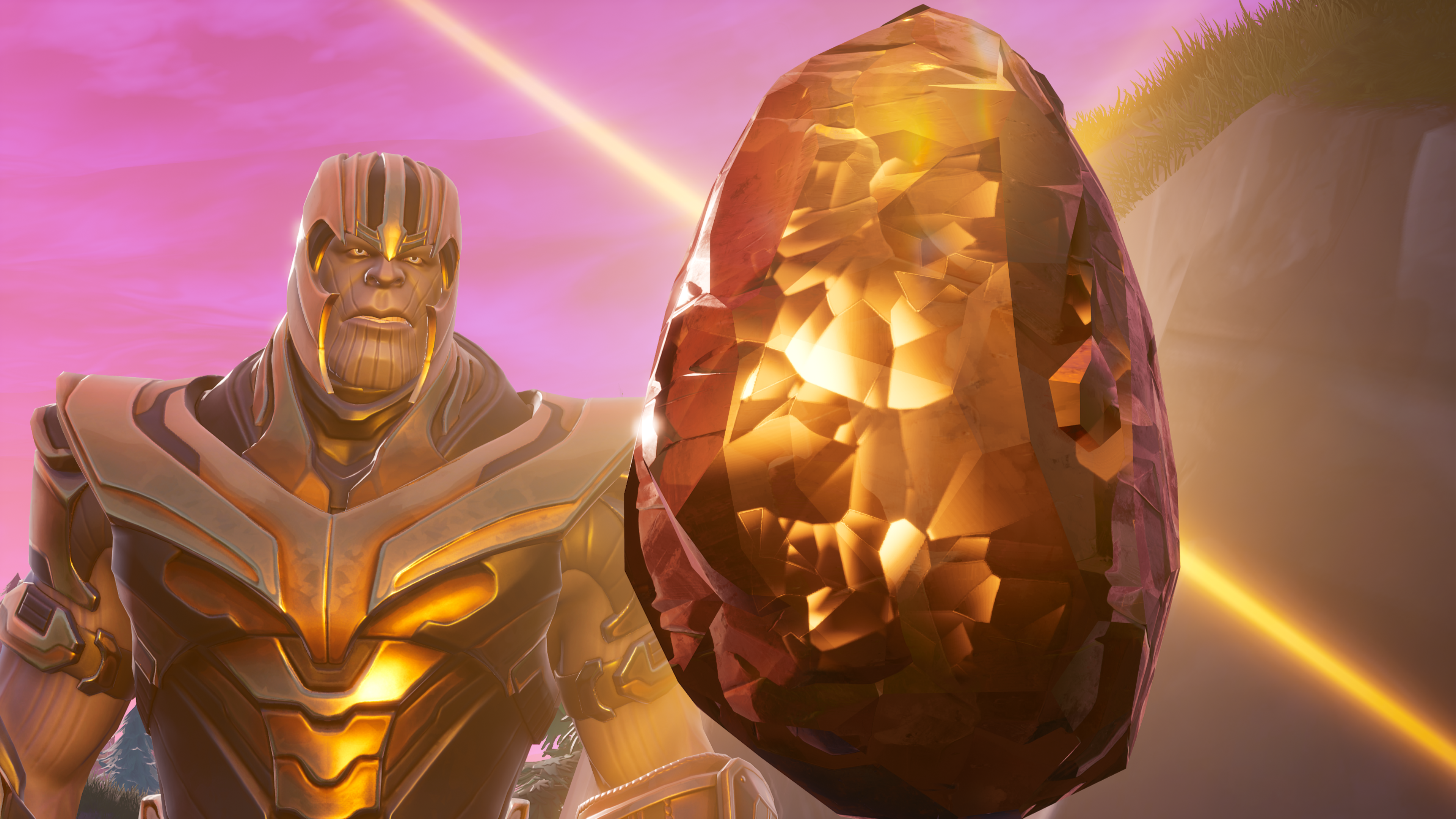 Fortnite Thanos Wallpapers Top Free Fortnite Thanos Backgrounds Wallpaperaccess