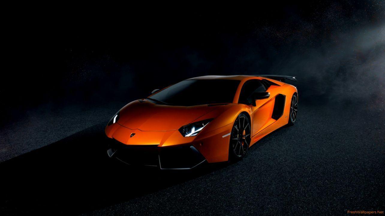 Orange Lamborghini Wallpapers Top Free Orange Lamborghini Backgrounds Wallpaperaccess