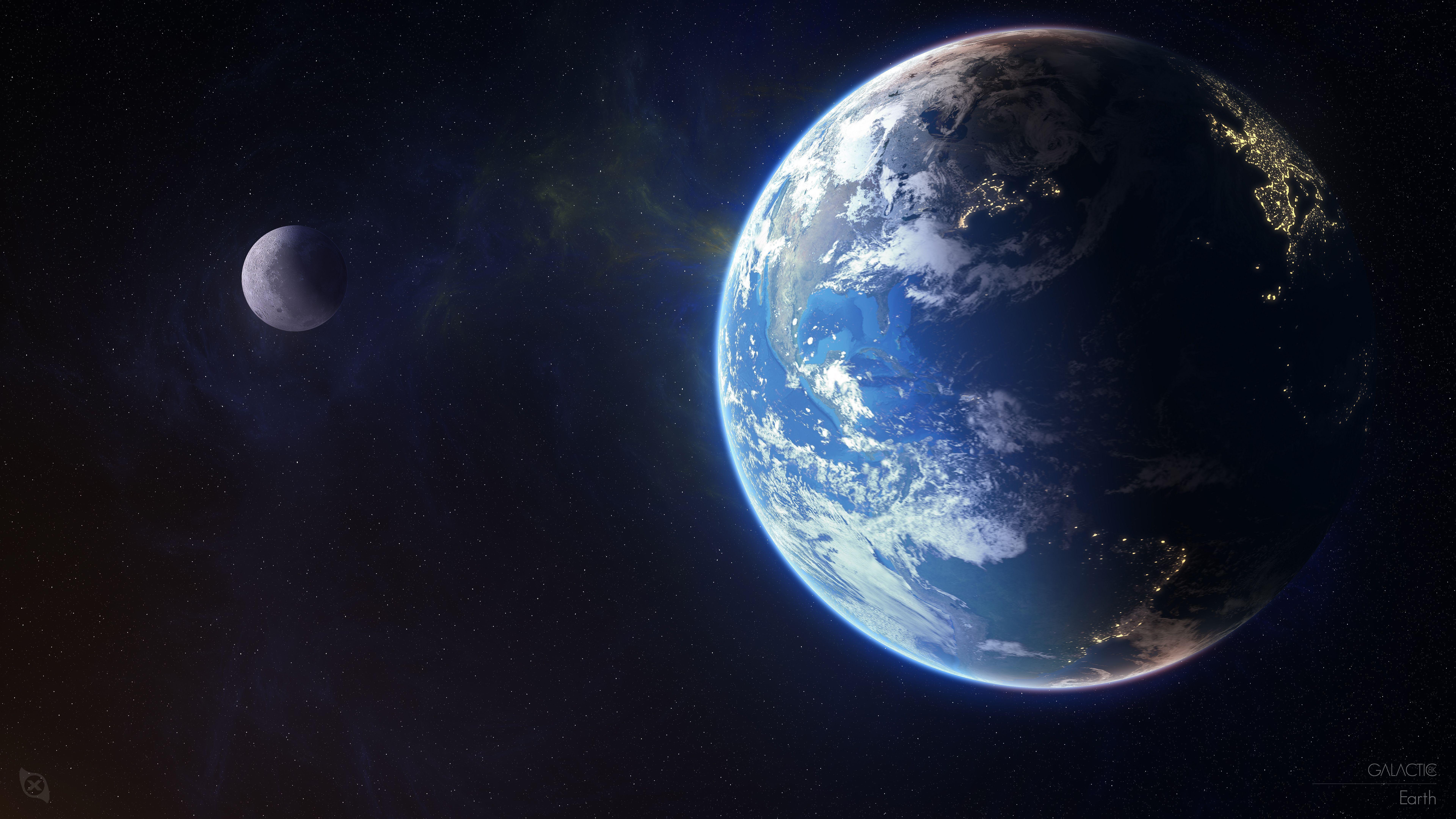 7680x4320 ورق جدران Earth ، Planet ، 4K ، 8K ، Space