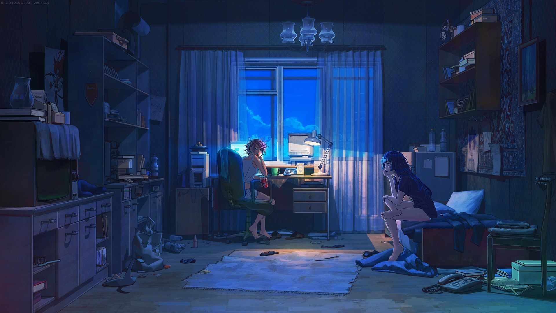 Anime Home Wallpapers Top Free Anime Home Backgrounds Wallpaperaccess