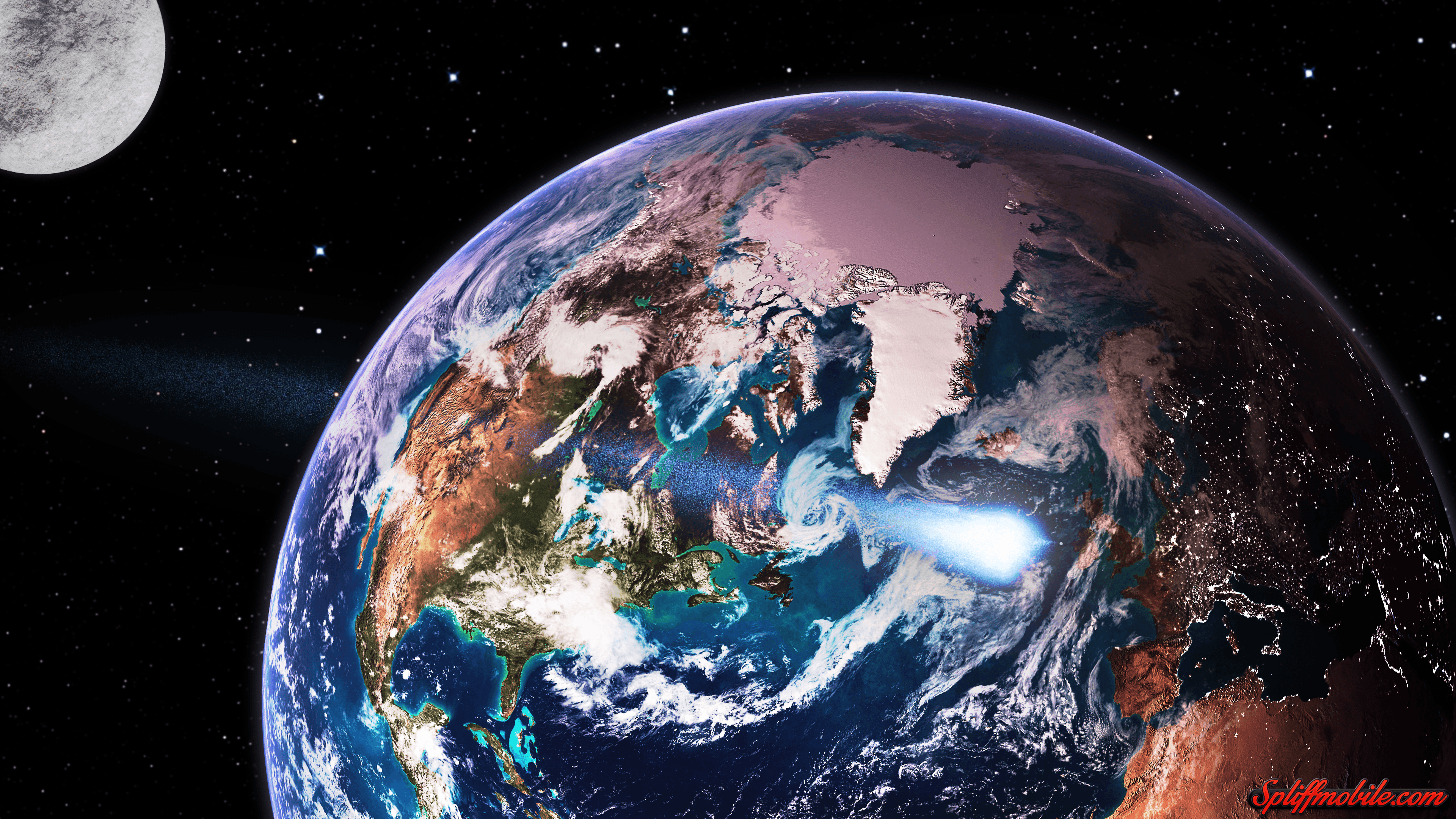 4k earth wallpapers top free 4k earth backgrounds - Earth hd images from space ...