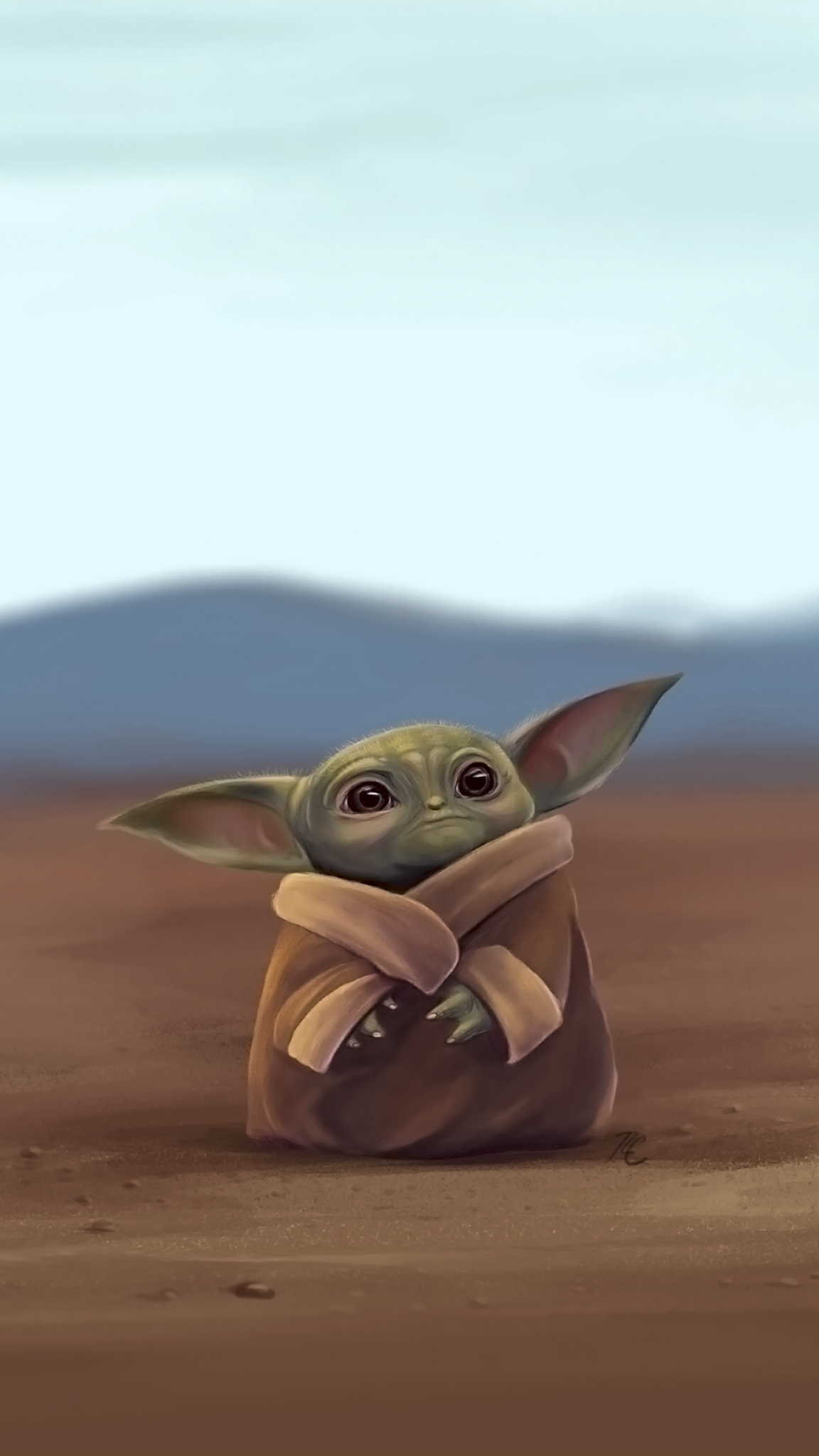 Baby Yoda Phone Wallpapers Top Free Baby Yoda Phone Backgrounds Wallpaperaccess