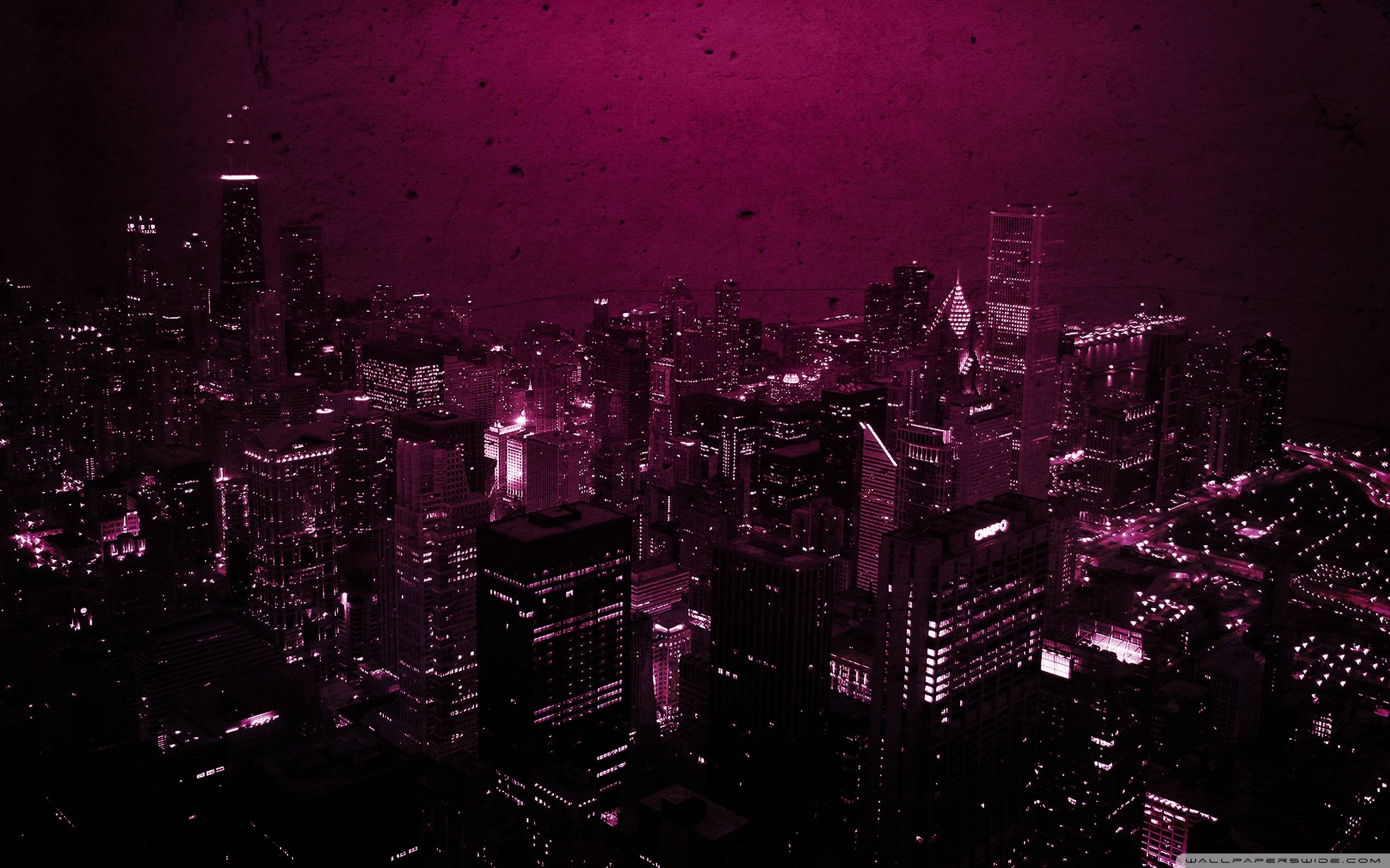 Purple City Wallpapers Top Free Purple City Backgrounds Wallpaperaccess