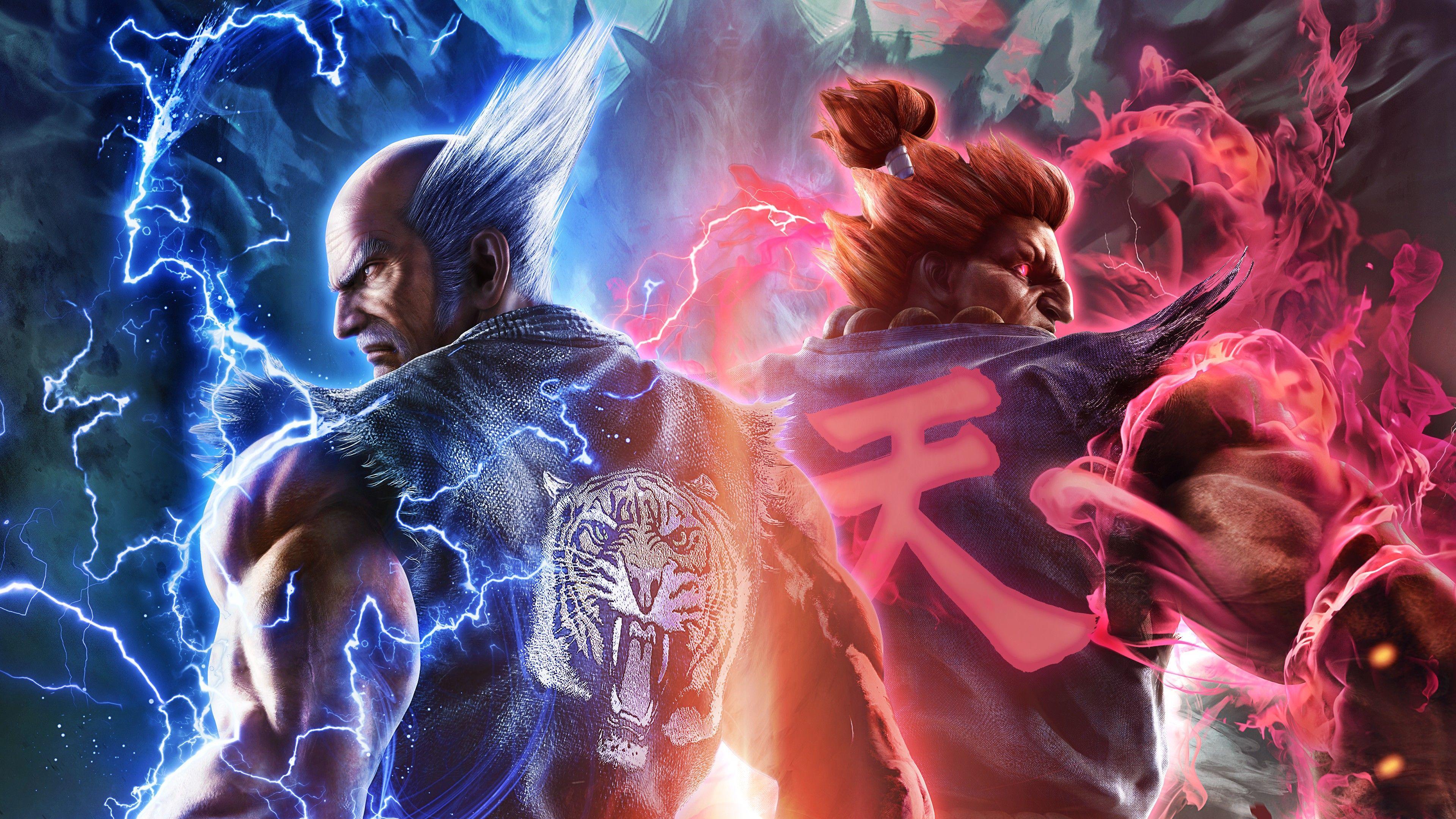 Tekken 4k Wallpapers Top Free Tekken 4k Backgrounds