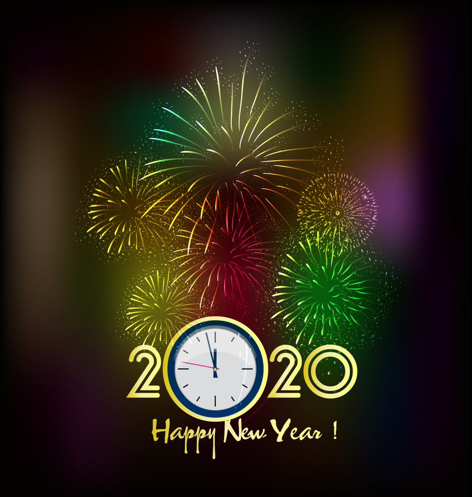 2020 Happy New Year Wallpapers Top Free 2020 Happy New