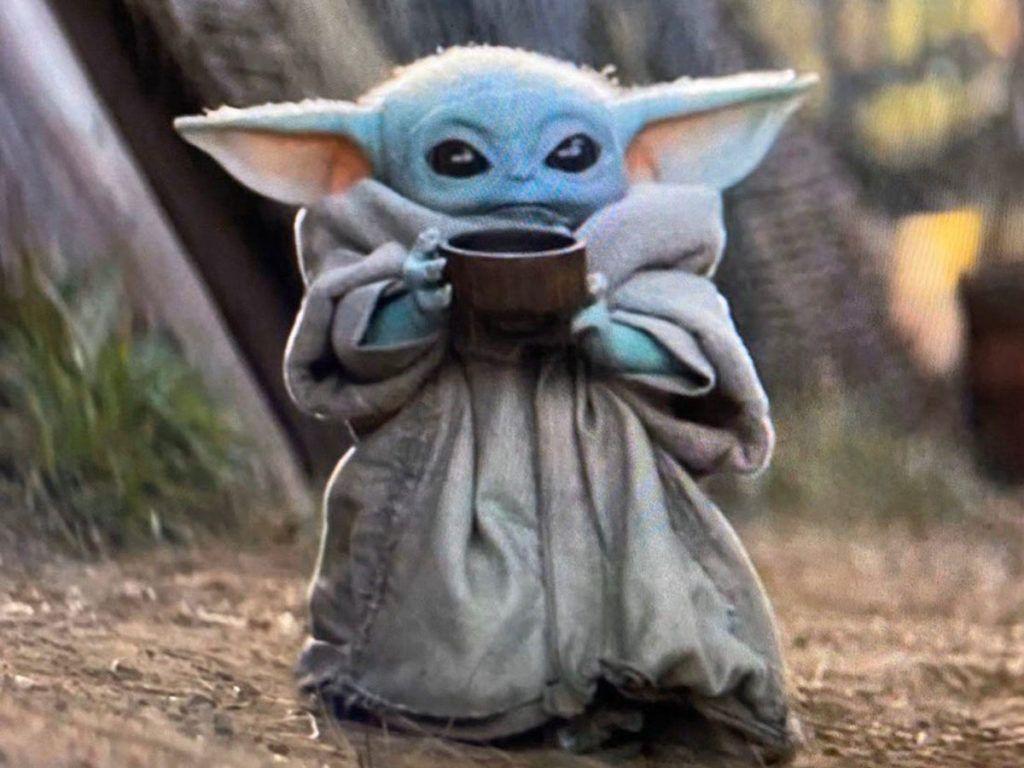 Cute Baby Yoda Wallpapers Top Free Cute Baby Yoda Backgrounds Wallpaperaccess