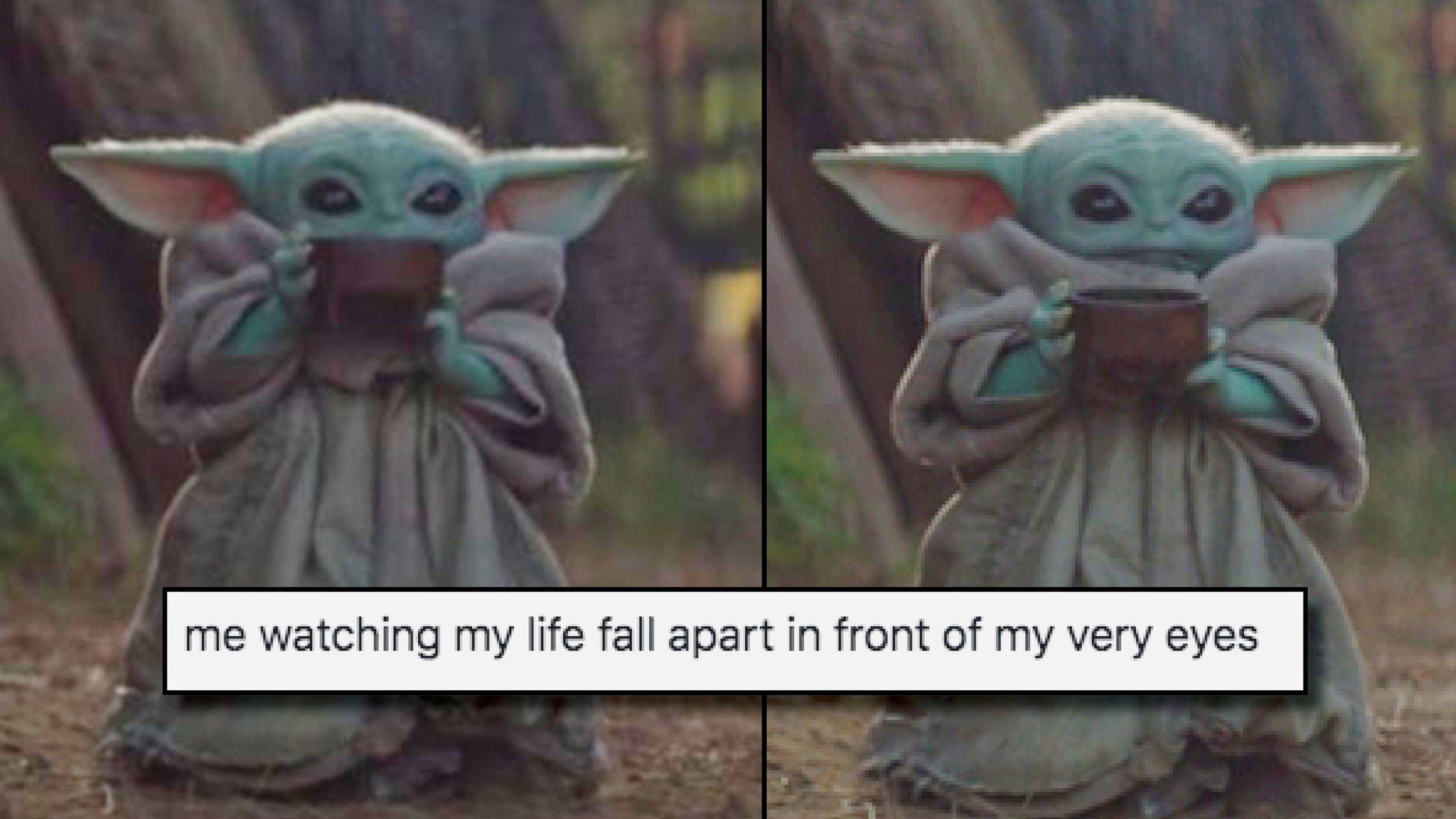 Baby Yoda Drinking Soup Meme Generator 10lilian