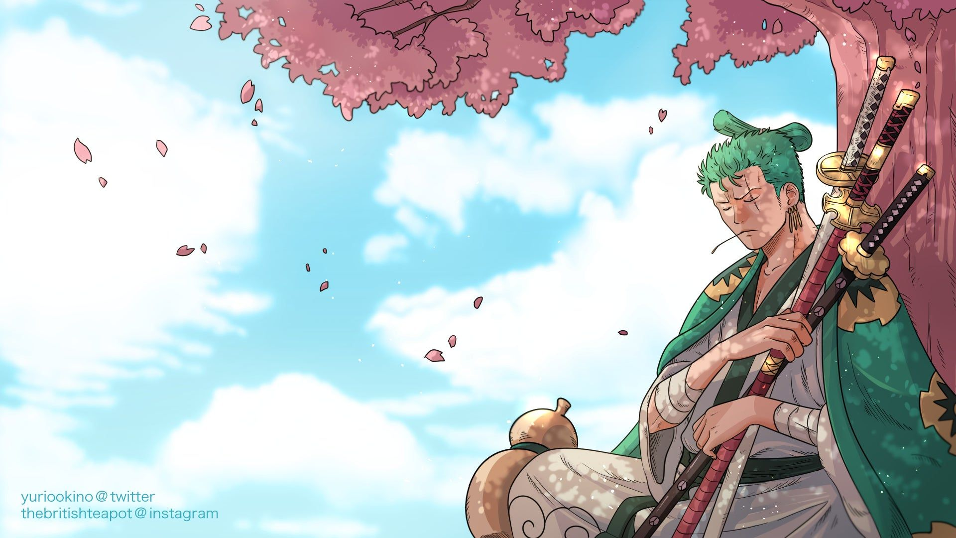 Zoro Wano Wallpapers Top Free Zoro Wano Backgrounds Wallpaperaccess