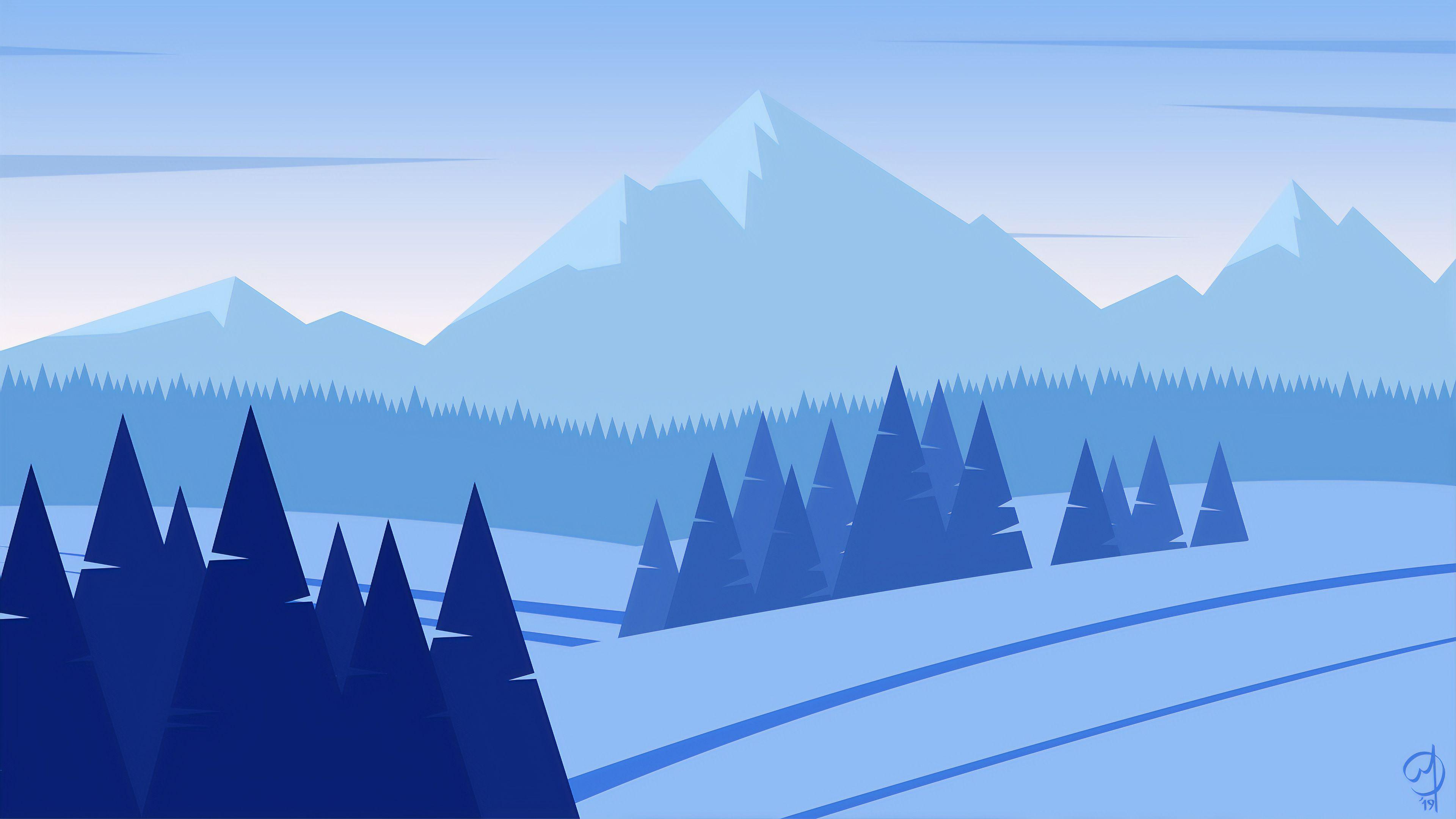 Snow Minimalist Wallpapers - Top Free Snow Minimalist ...