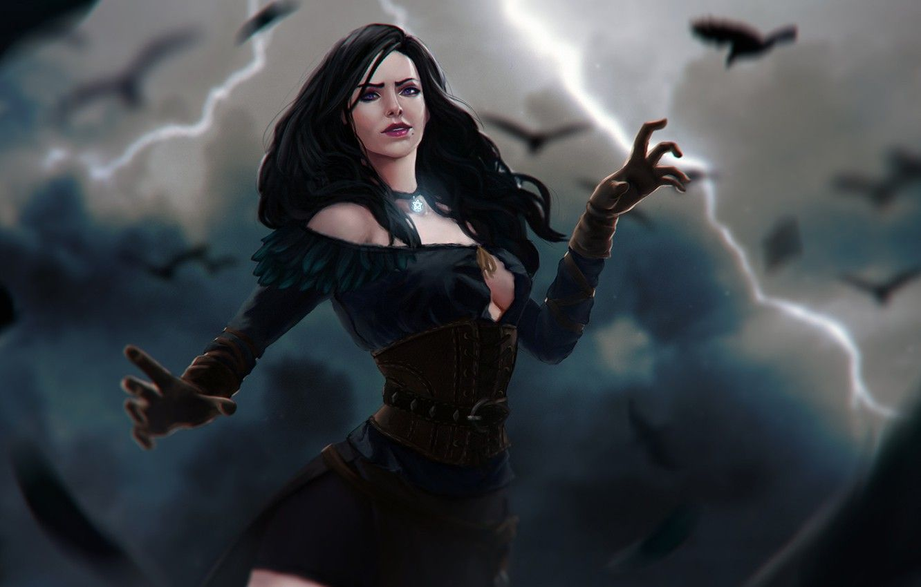 Yennefer Wallpapers Top Free Yennefer Backgrounds Wallpaperaccess