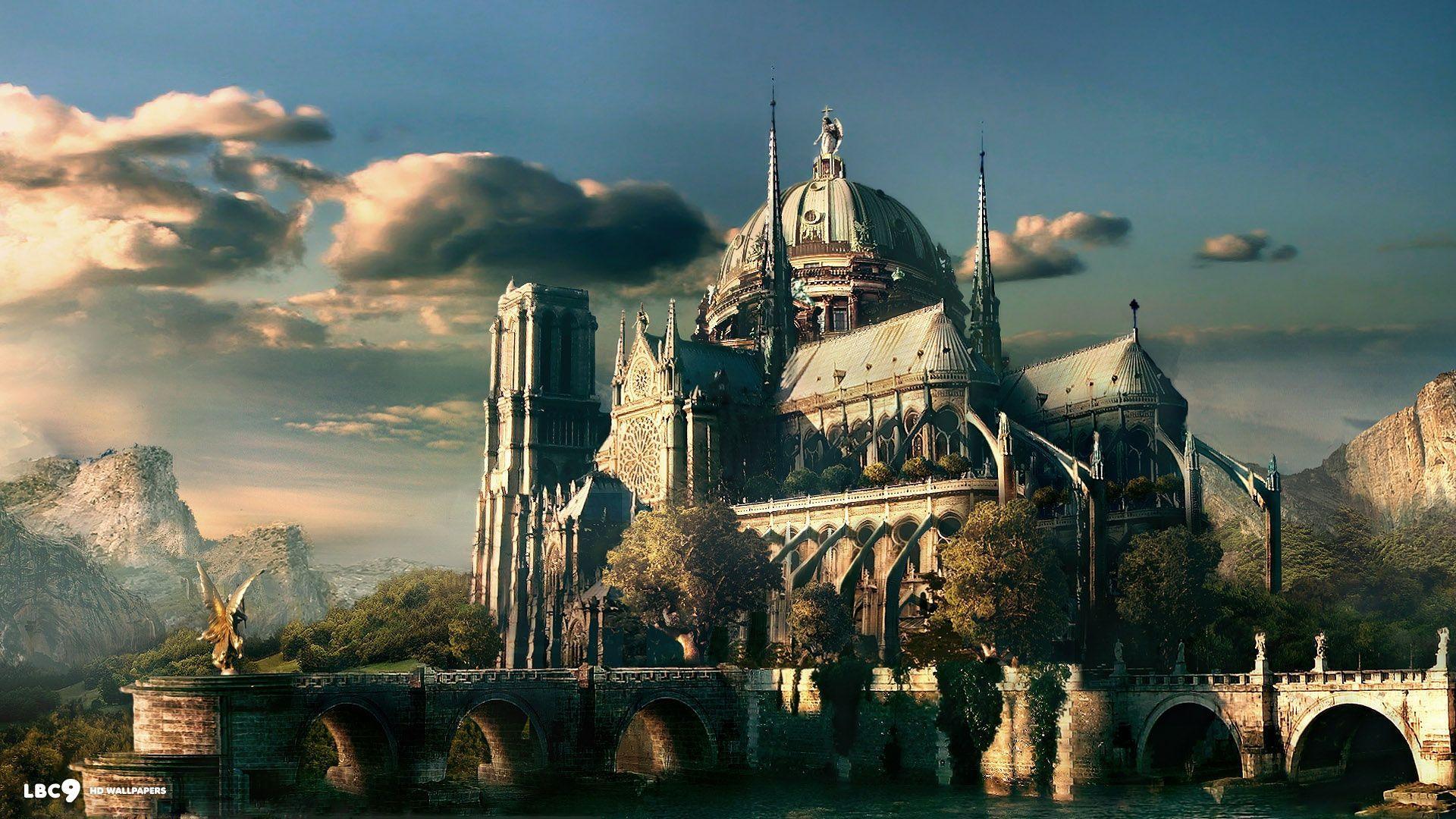 37 best free romantic castle wallpapers - wallpaperaccess