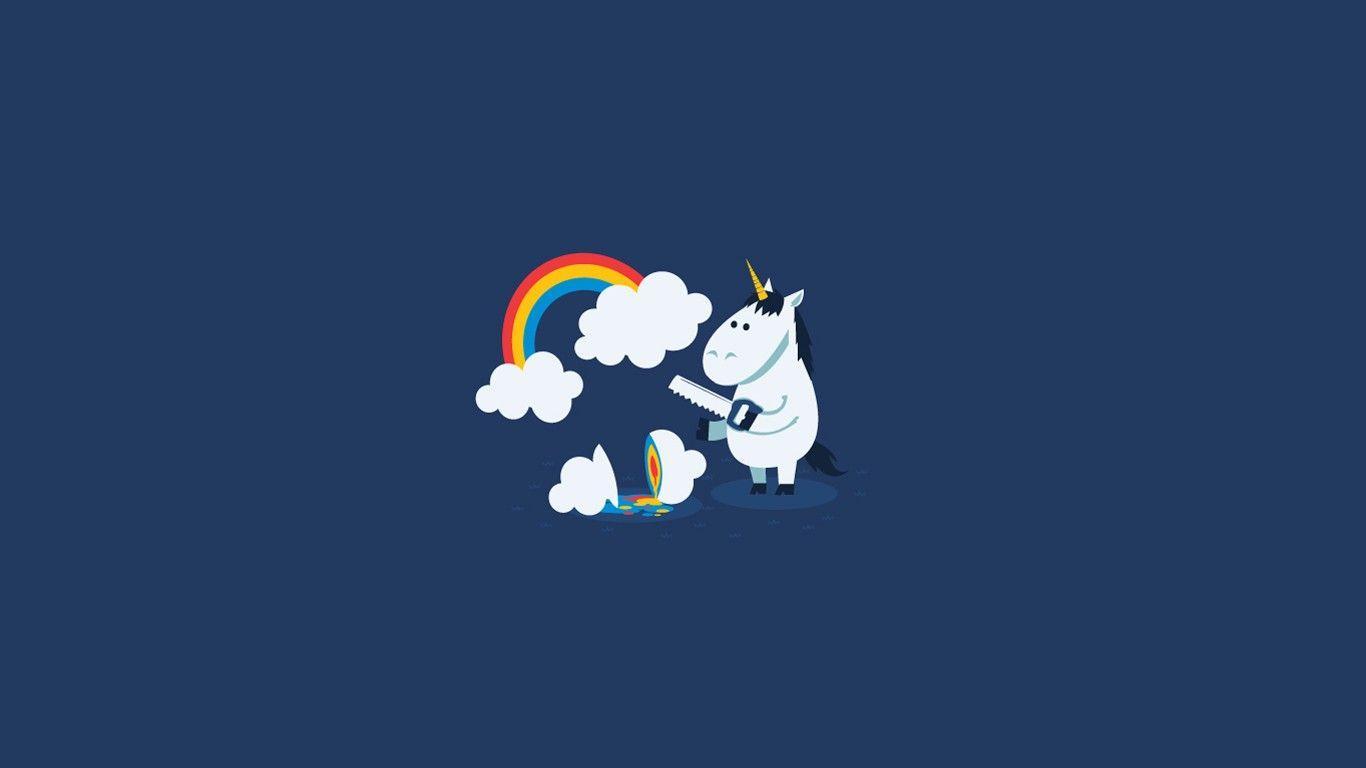 Minimalist Unicorn Wallpapers Top Free Minimalist Unicorn Backgrounds Wallpaperaccess