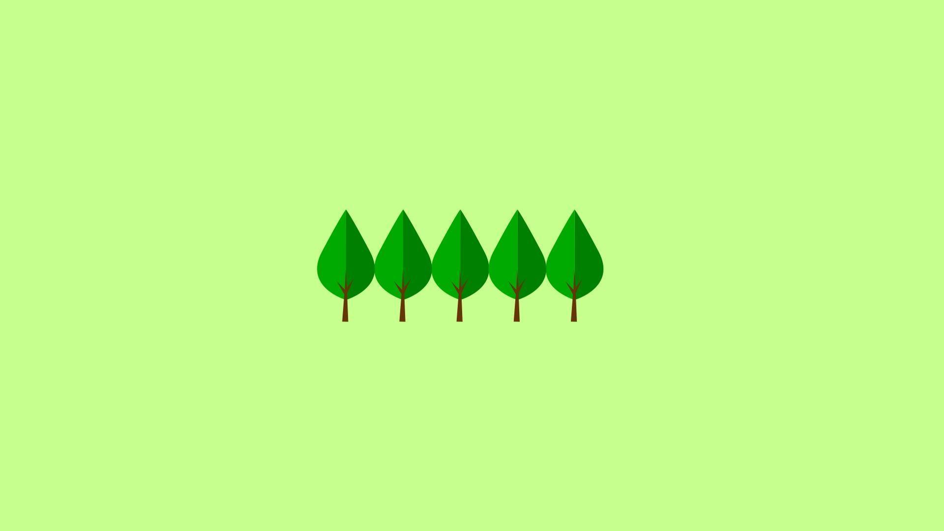 Green Minimalist Wallpapers - Top Free ...