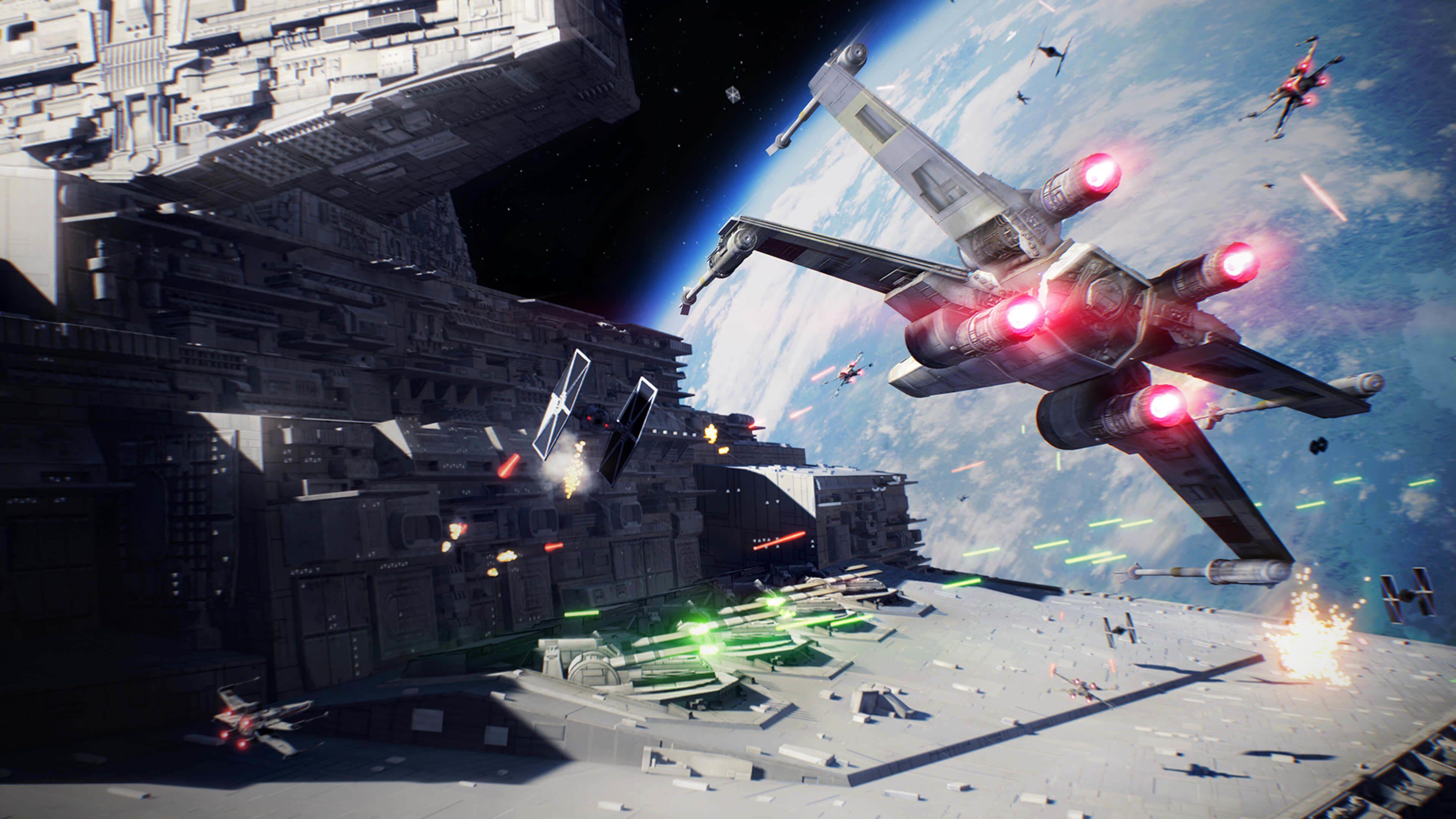 Star Wars Space Battle Wallpapers Top Free Star Wars Space
