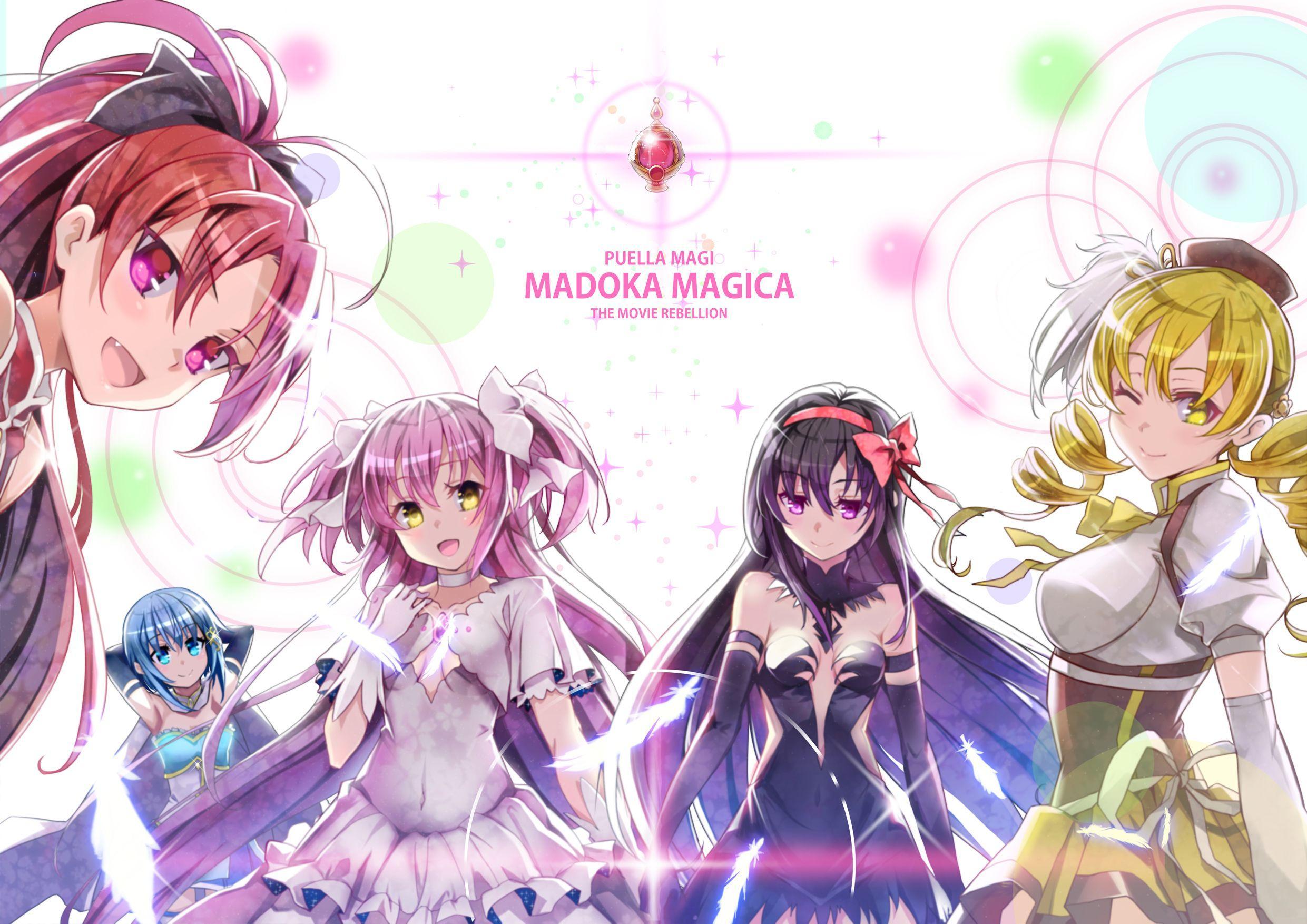 Puella Magi Madoka Magica Wallpapers Top Free Puella Magi Madoka
