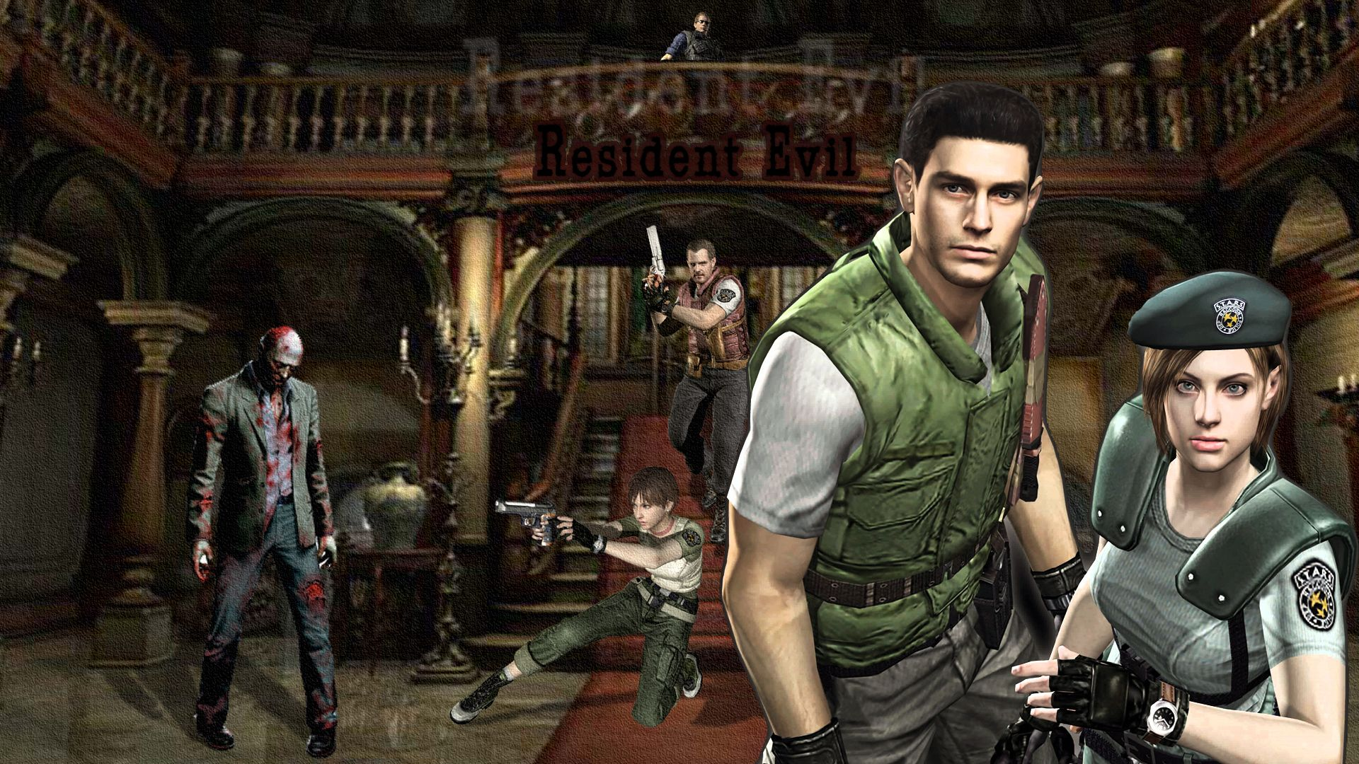 Resident Evil 1 Wallpapers Top Free Resident Evil 1 Backgrounds