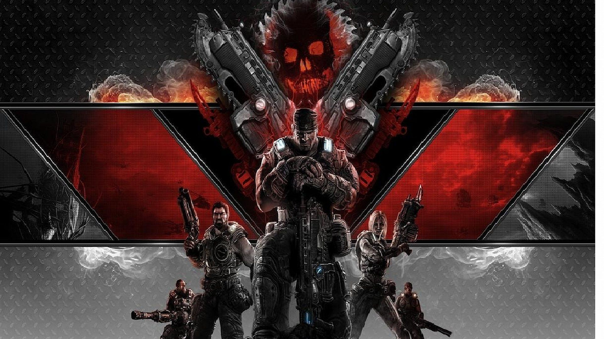 Gears Of War 3 Wallpapers Top Free Gears Of War 3